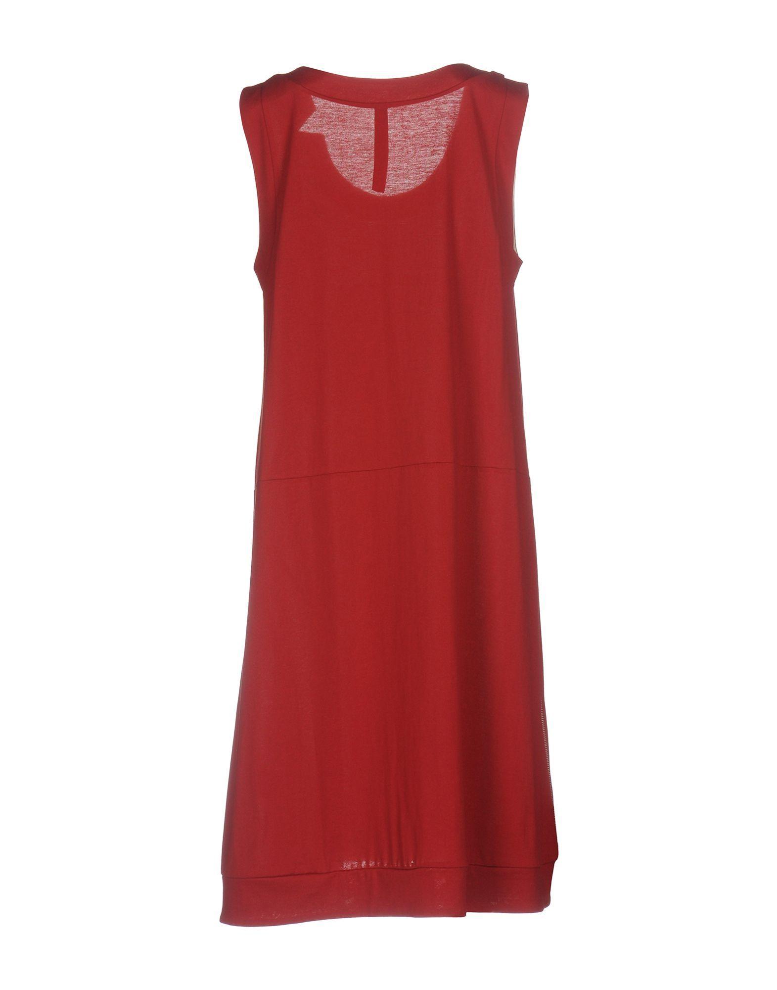 Dress Liviana Conti Brick Red Women's Cotton
