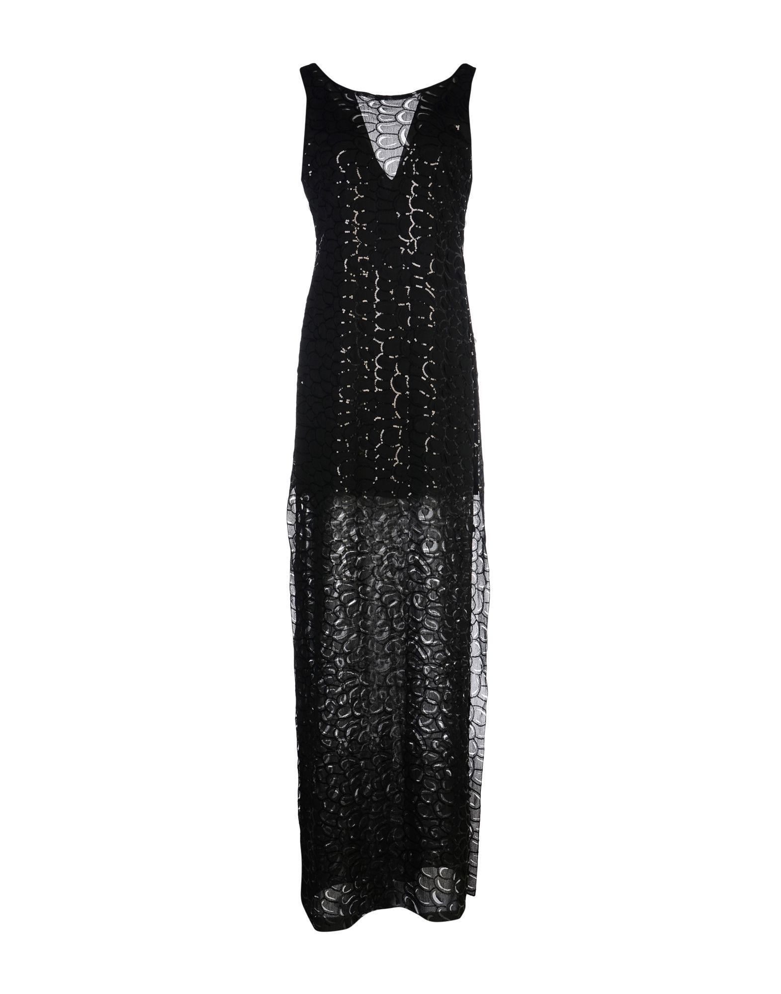 DRESSES Relish Black Woman Polyester