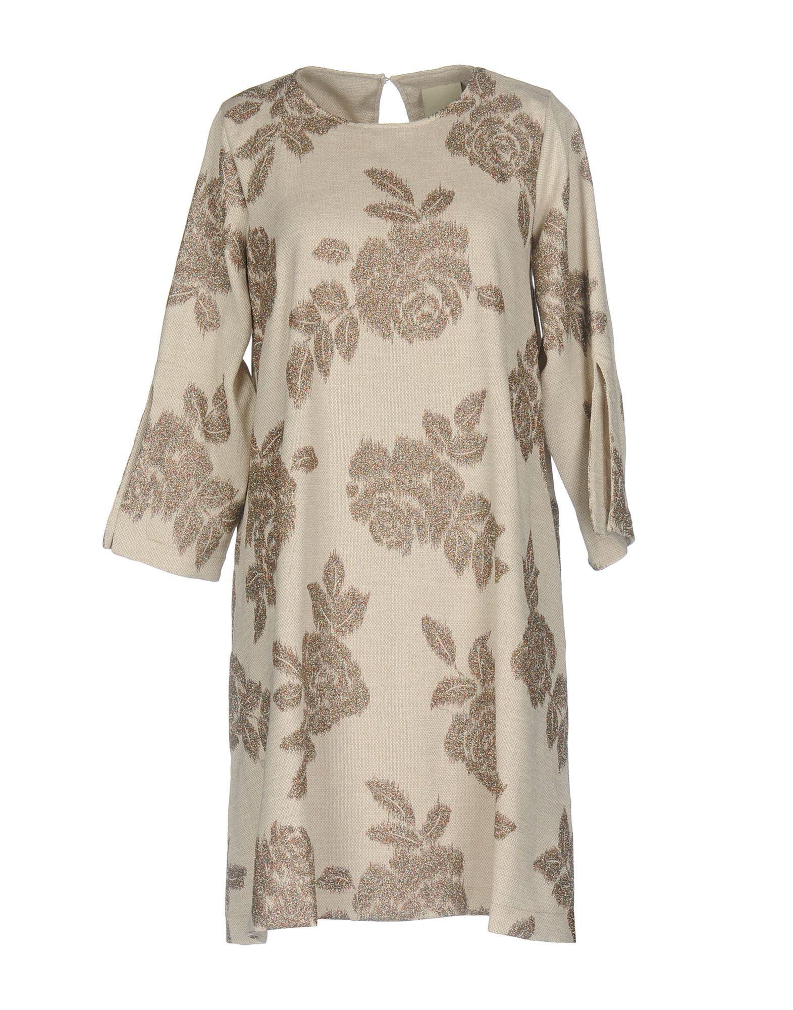DRESSES Woman Jijil Light brown Polyester