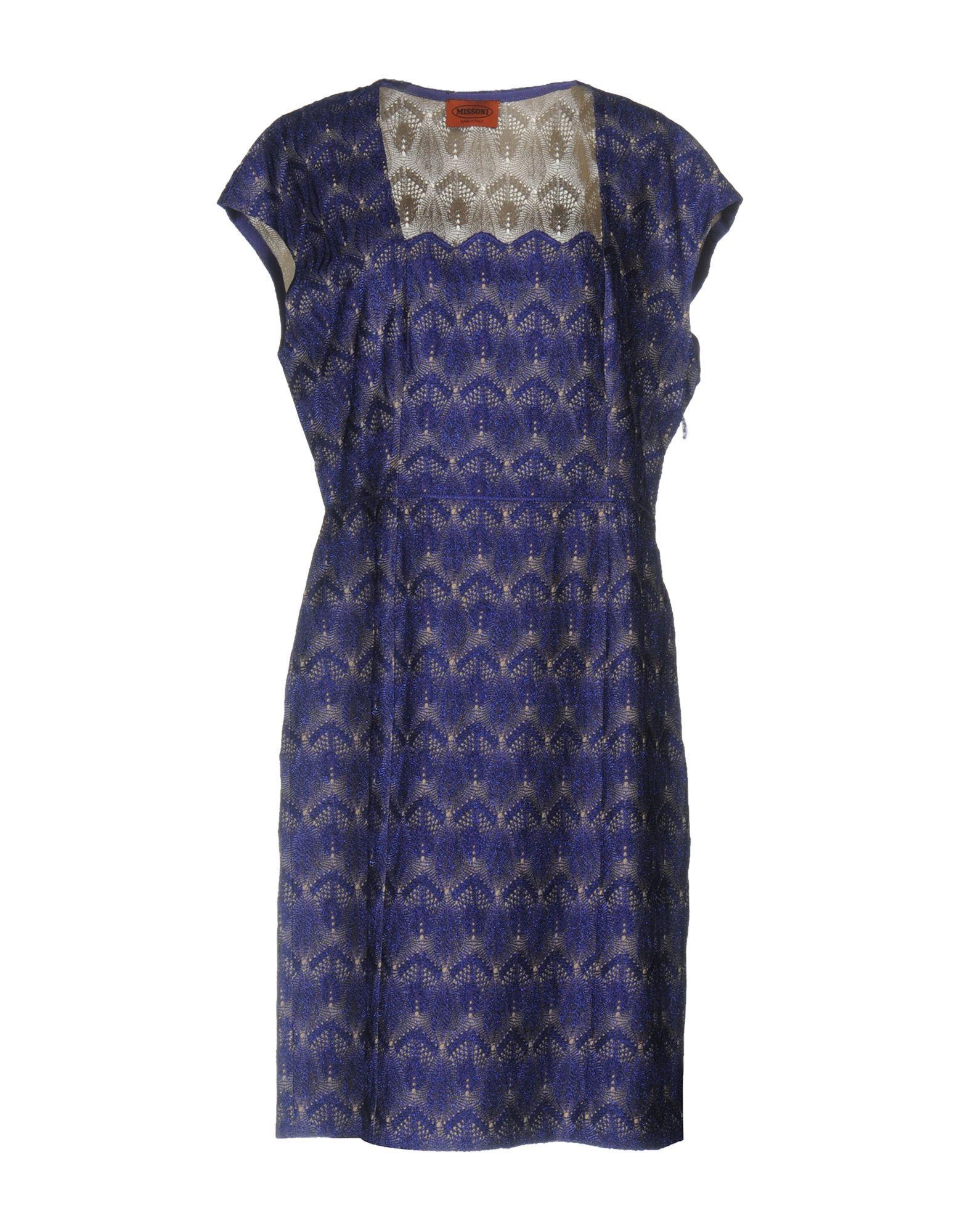 DRESSES Missoni Purple Woman Viscose