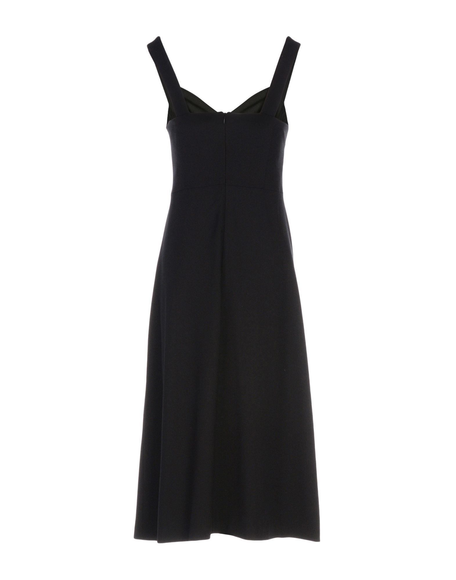 Chalayan Black Crepe Sleeveless Dress