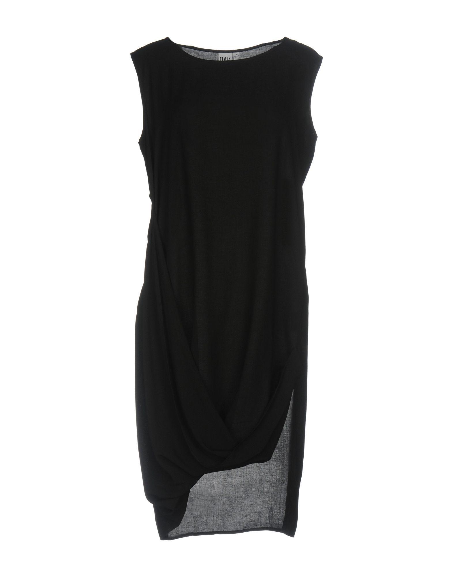 DRESSES Oak Black Woman Rayon