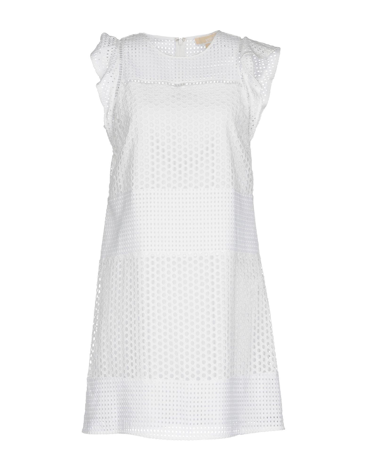 Dress Michael Michael Kors White Women's Cotton