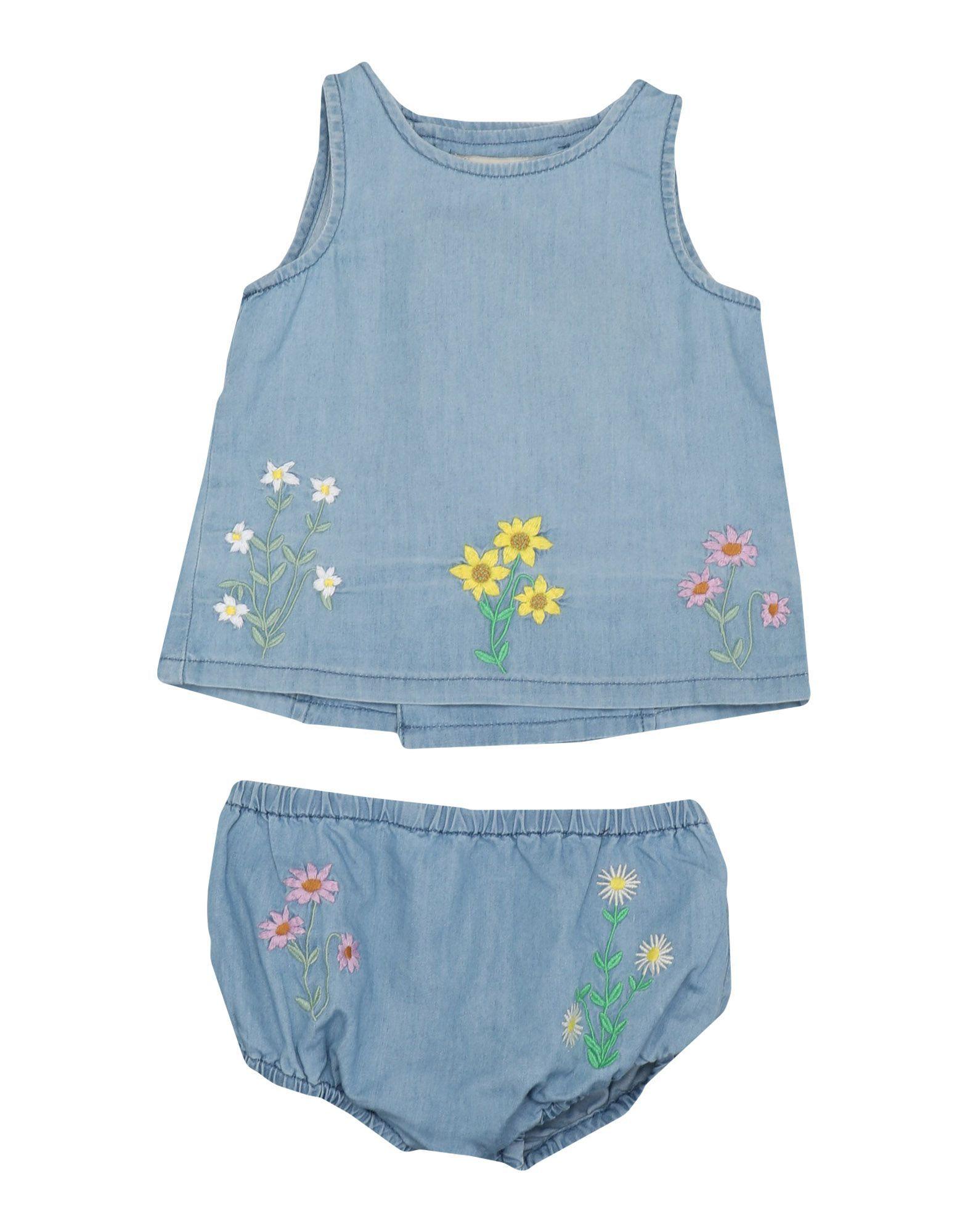 Stella Mccartney Kids Blue Girl Cotton Set
