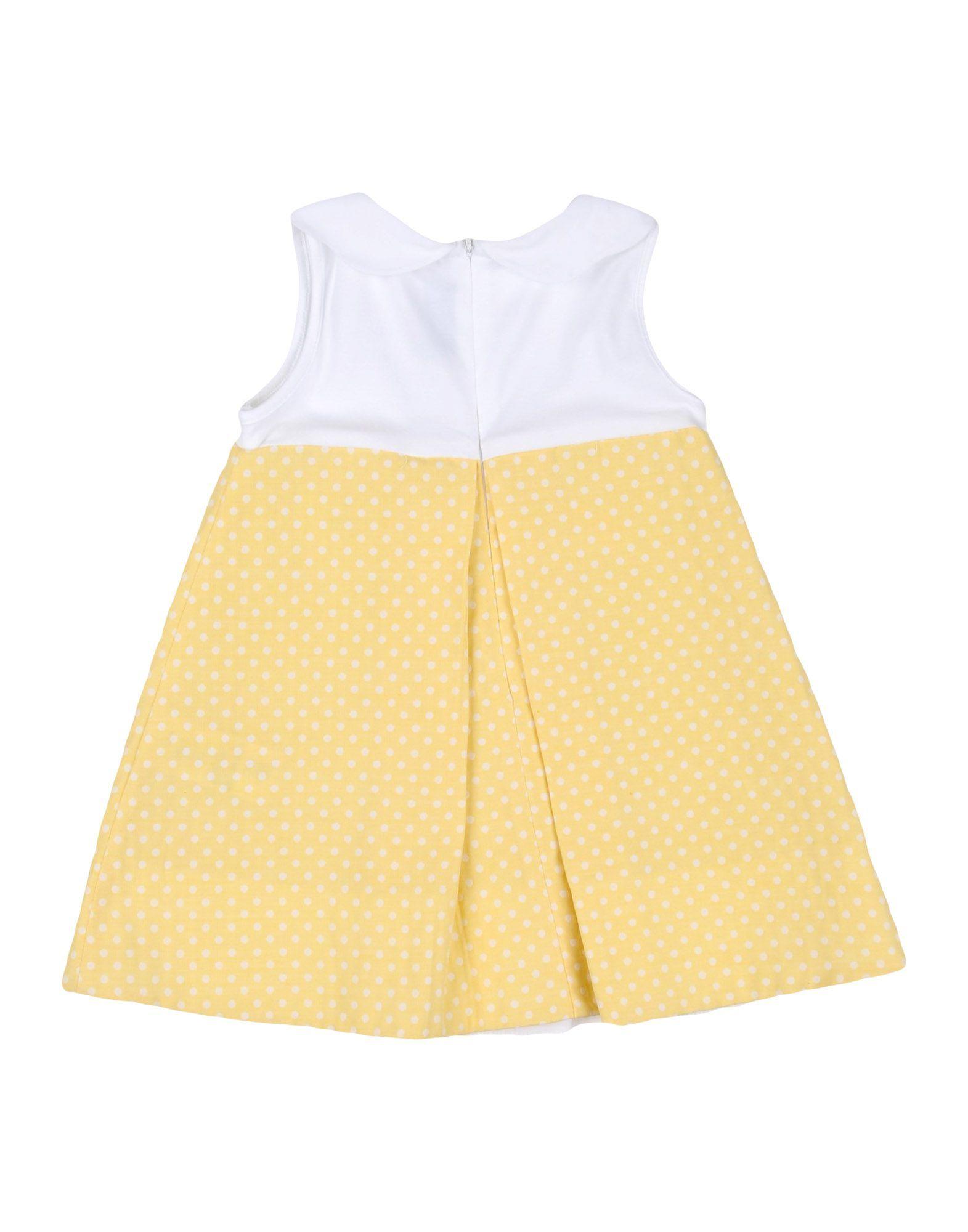 BODYSUITS & SETS Simonetta Mini Yellow Girl Cotton