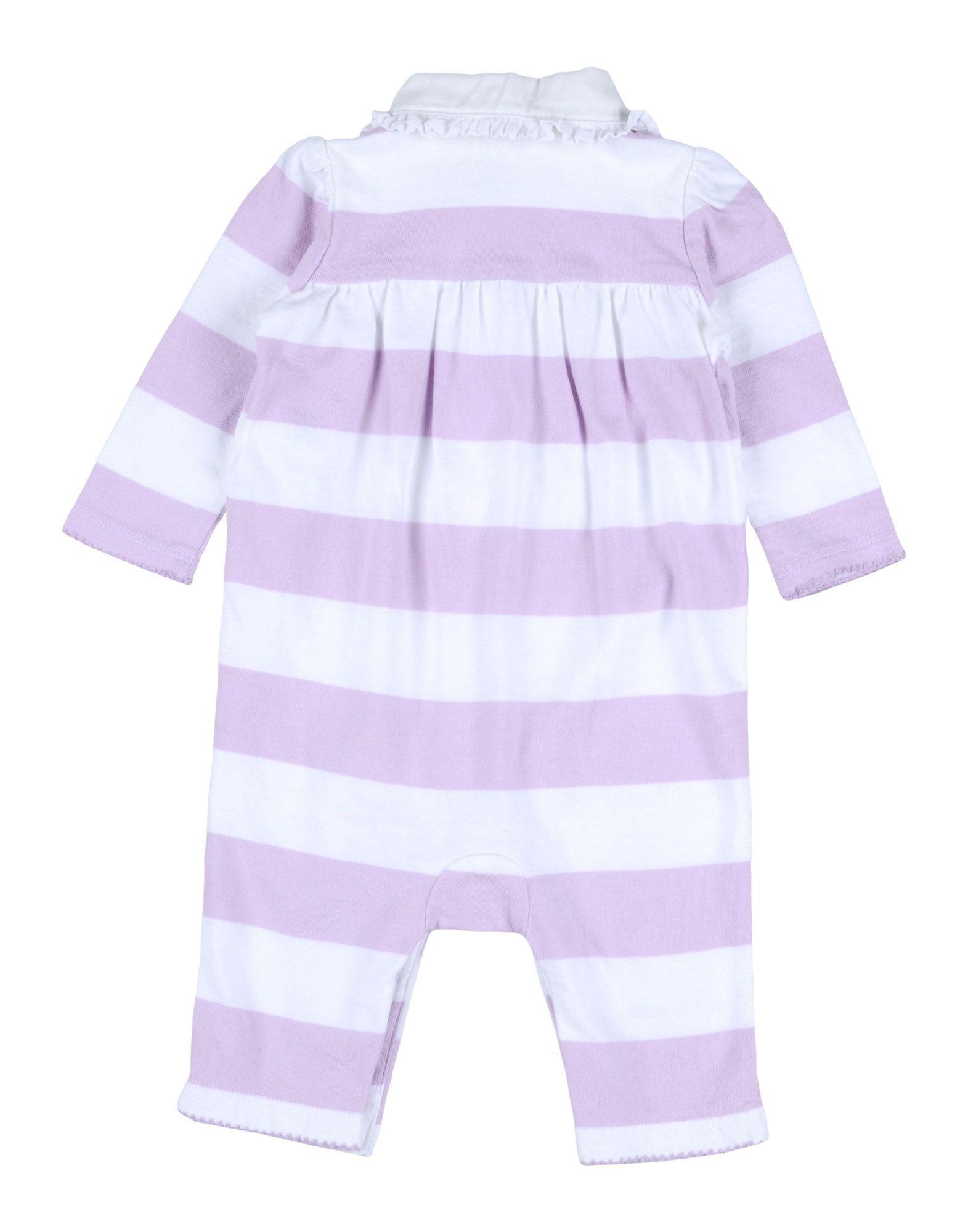 BODYSUITS & SETS Ralph Lauren Lilac Girl Cotton