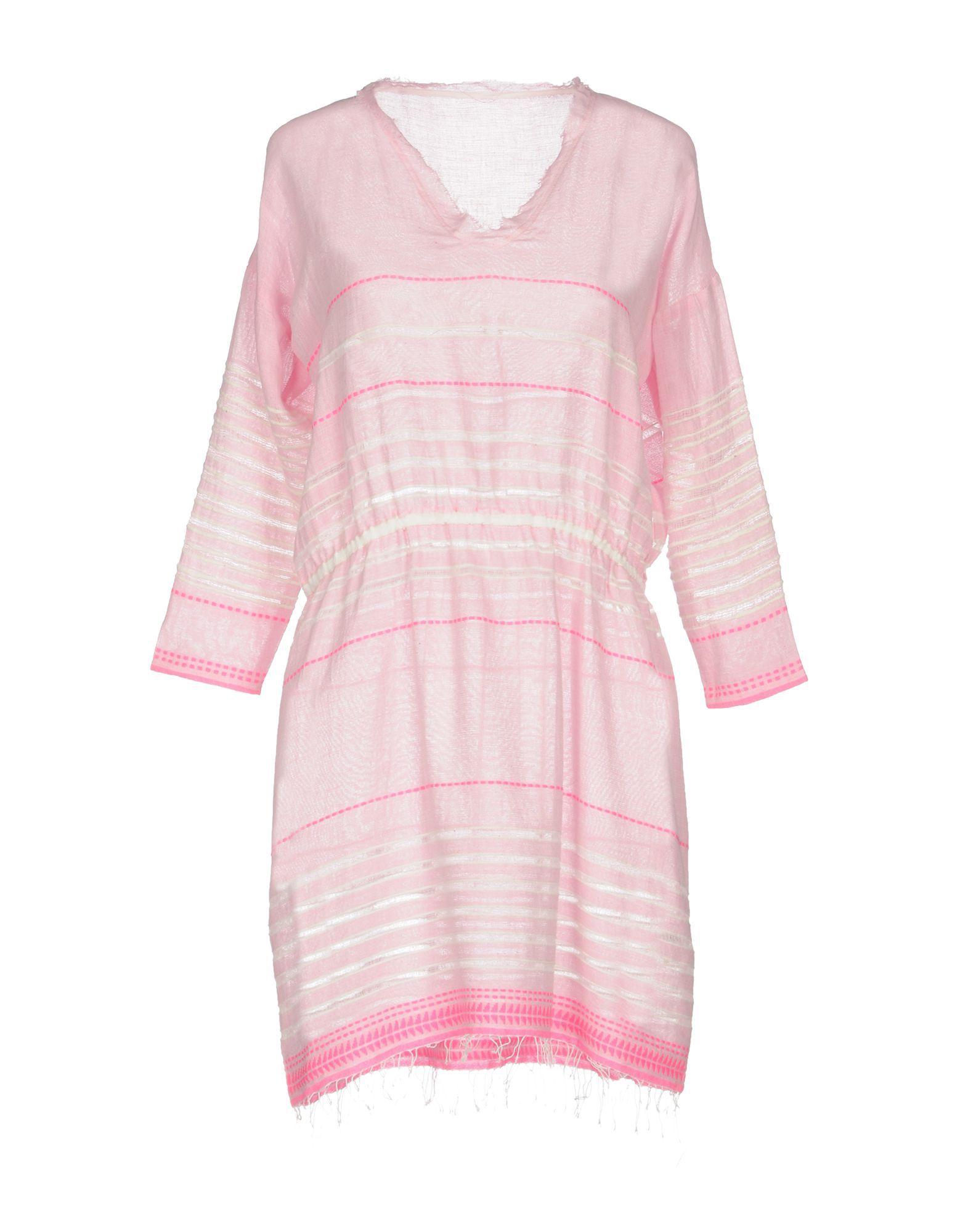 DRESSES Lemlem Pink Woman Cotton
