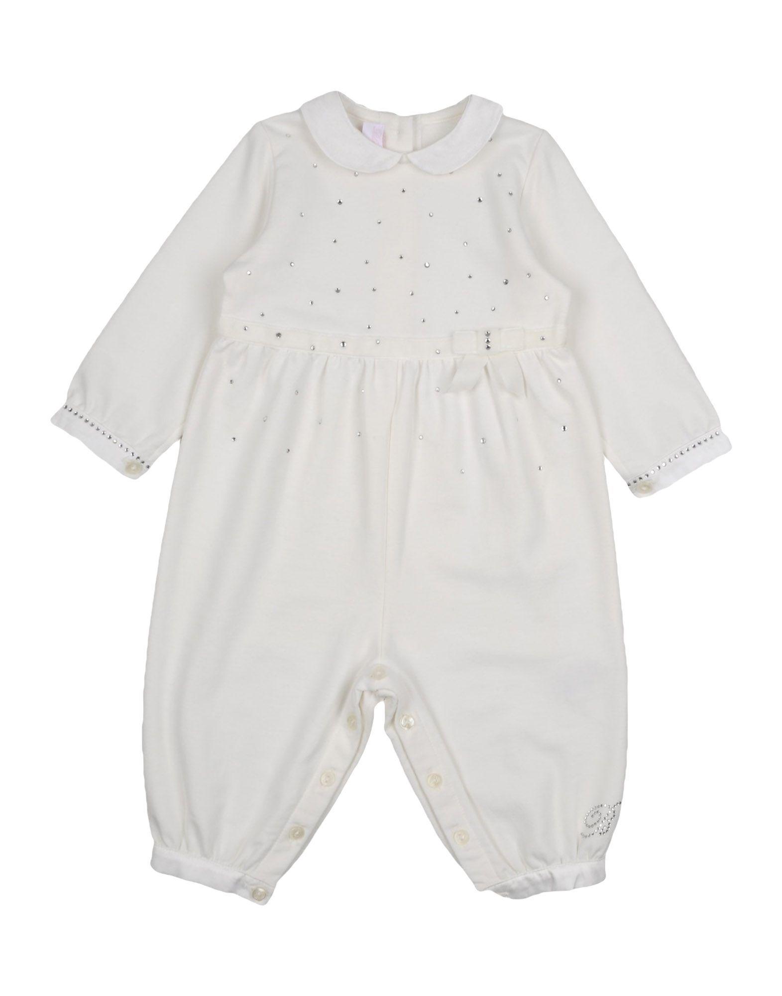 BODYSUITS & SETS Miss Blumarine Ivory Girl Cotton