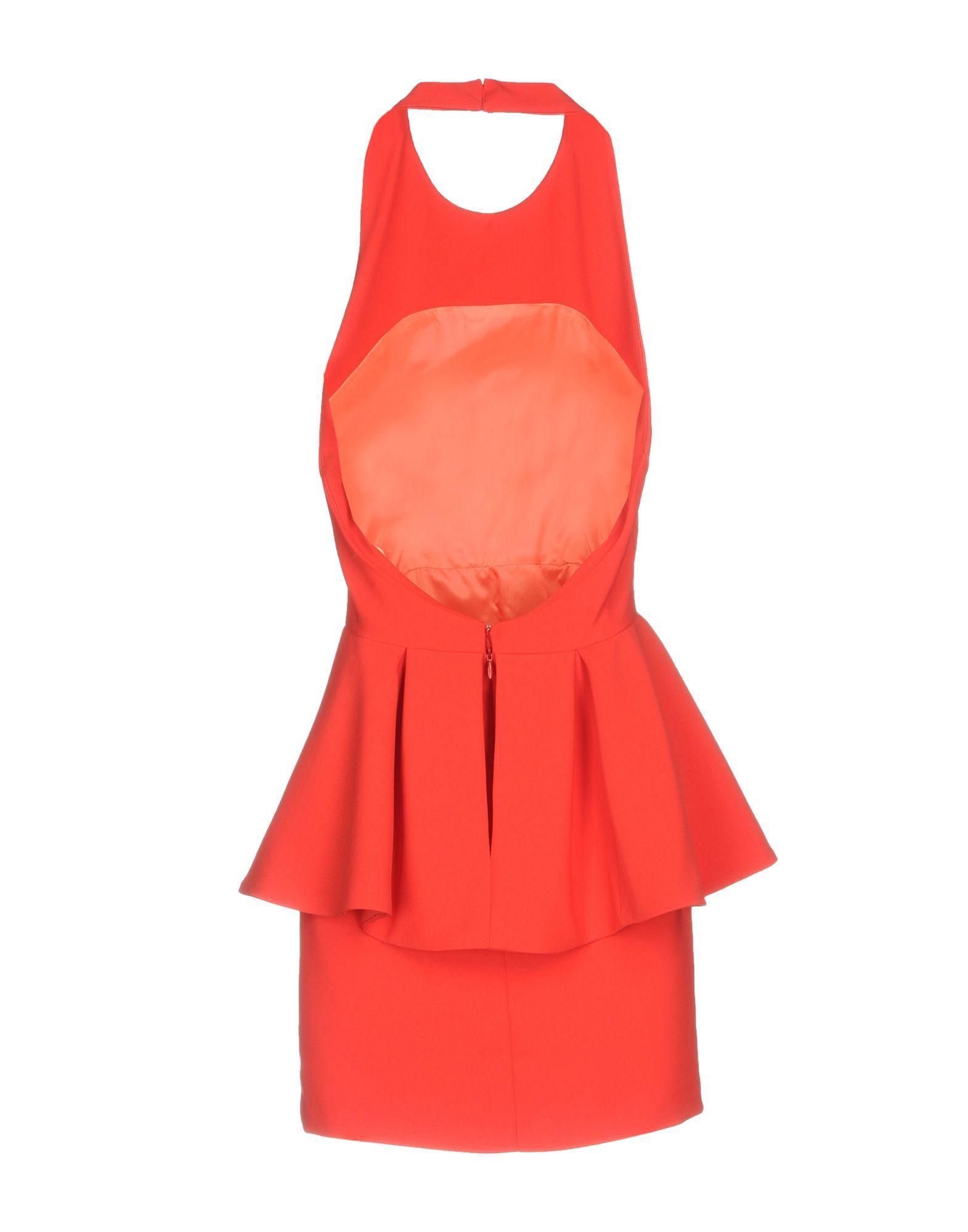 DRESSES Alex Vidal Red Woman Polyester
