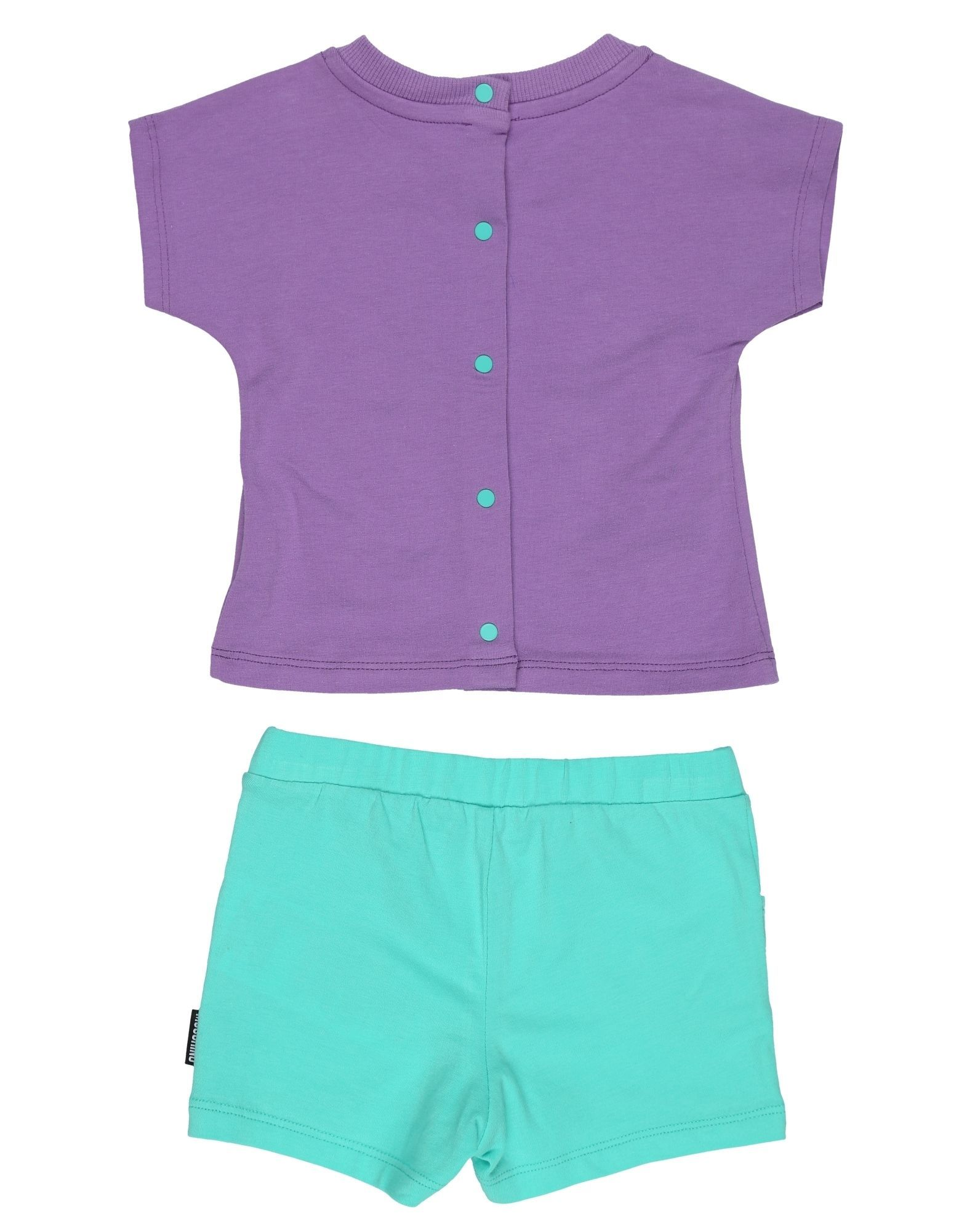 Moschino Purple Girls Cotton Set