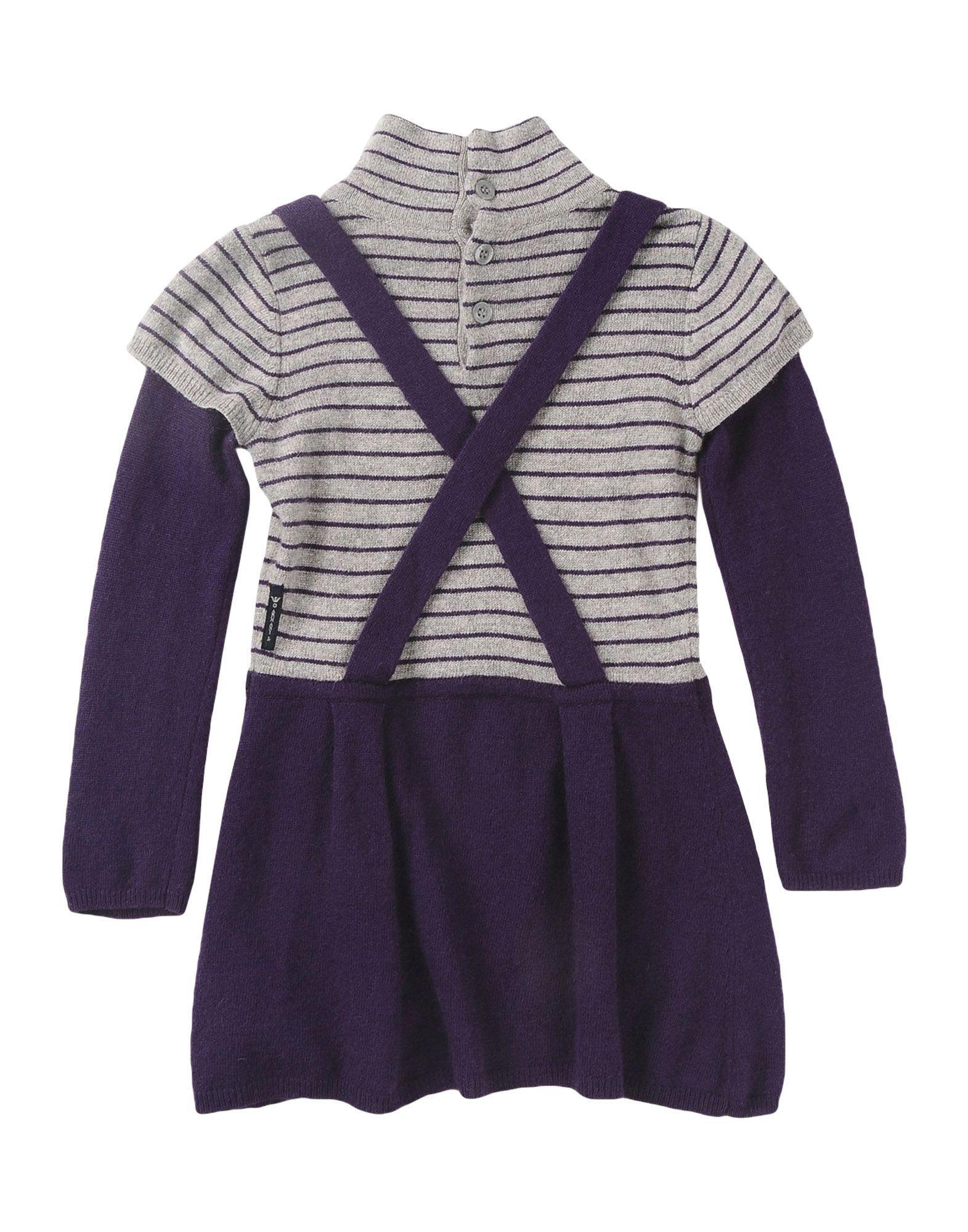 BODYSUITS & SETS Armani Junior Purple Girl Viscose