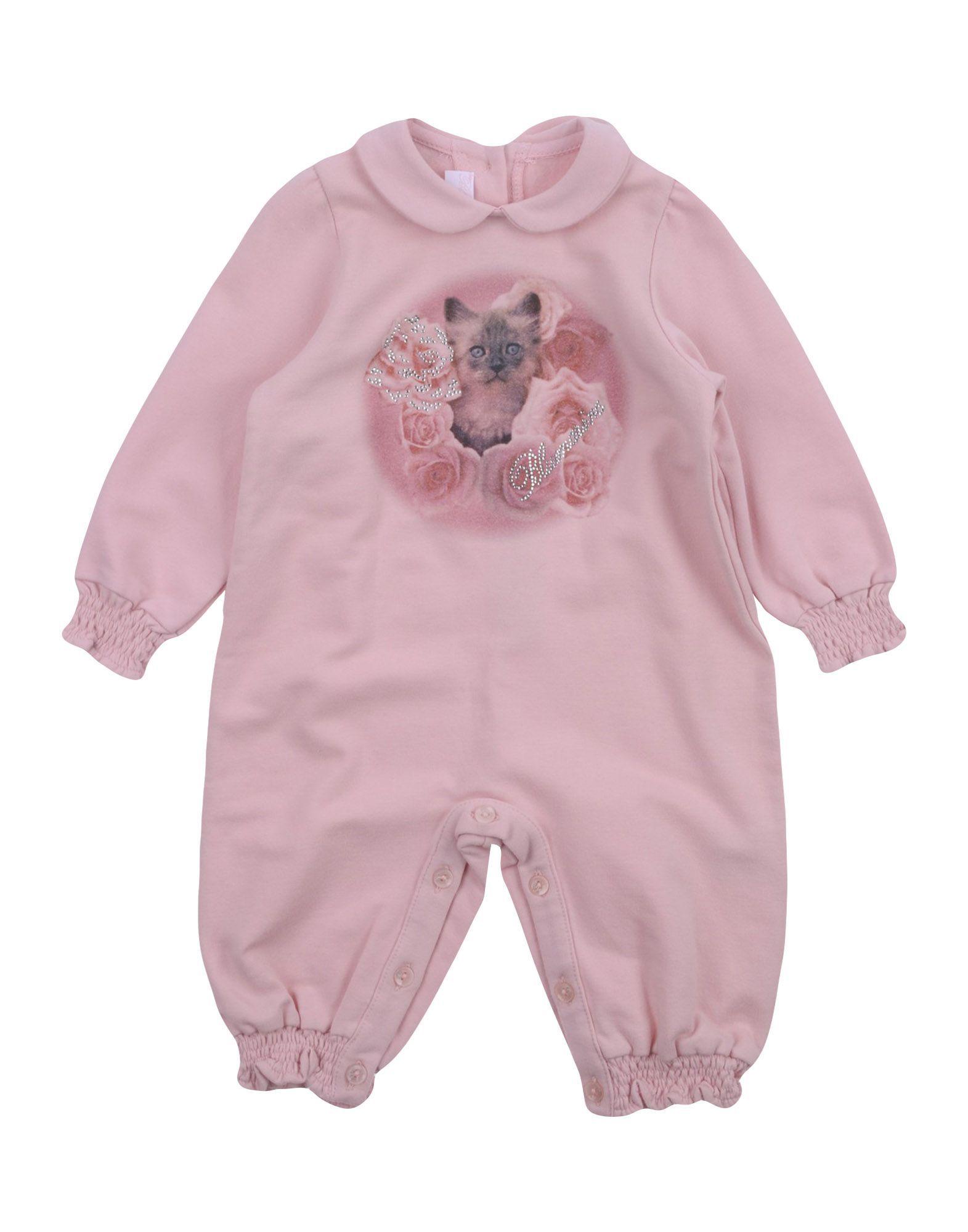 BODYSUITS & SETS Miss Blumarine Pink Girl Cotton