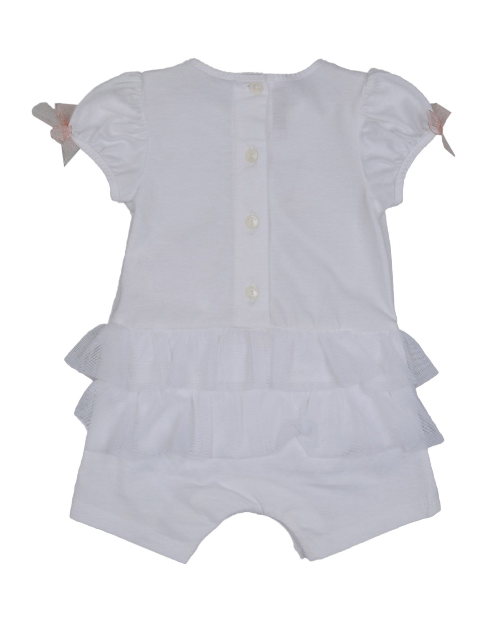 BODYSUITS & SETS Miss Blumarine White Girl Cotton