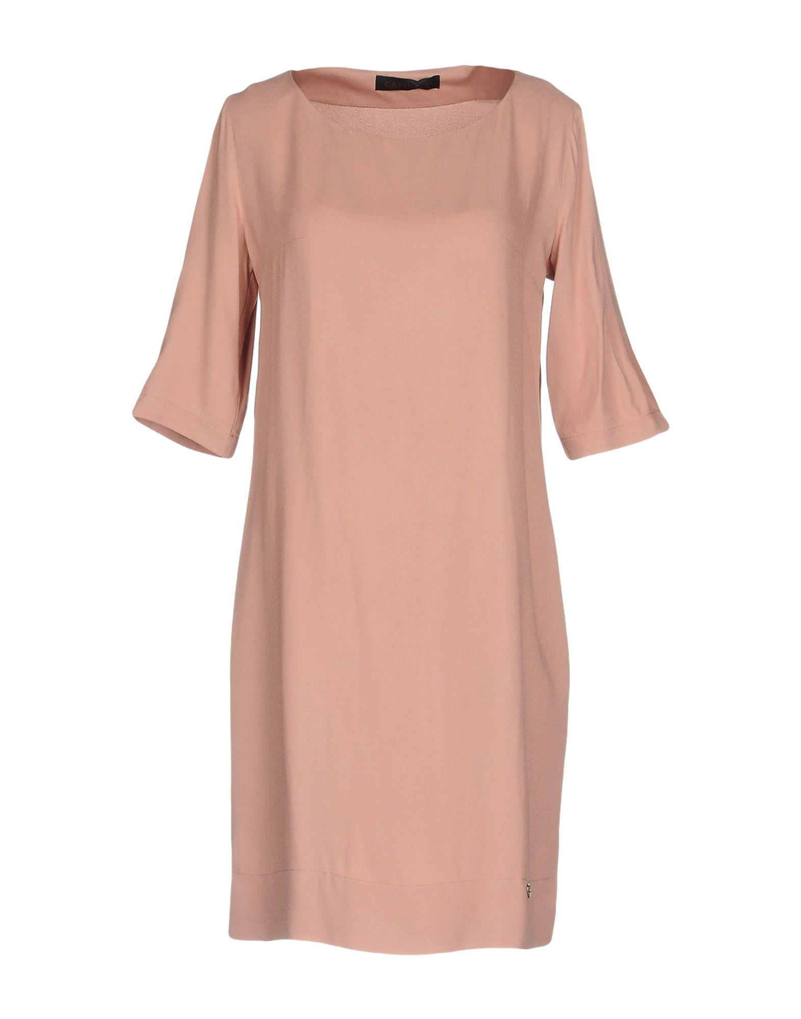 Cafenoir Sky Blue Short Sleeve Dress