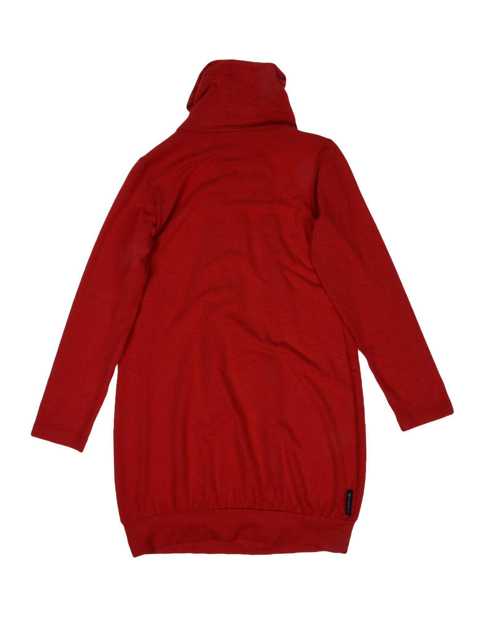 DRESSES Armani Junior Red Girl Viscose