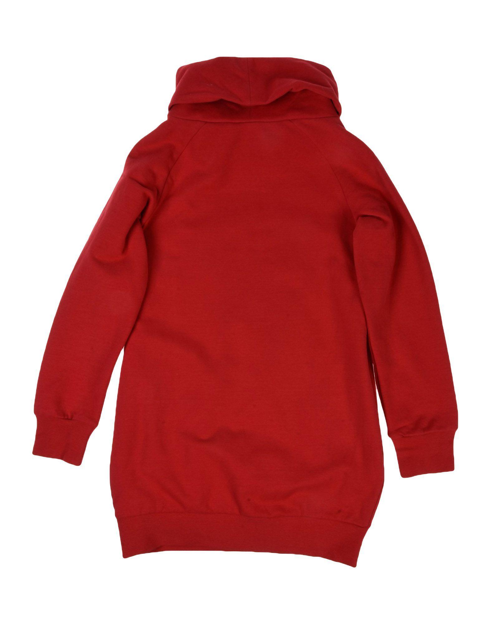 DRESSES Armani Junior Red Girl Cotton
