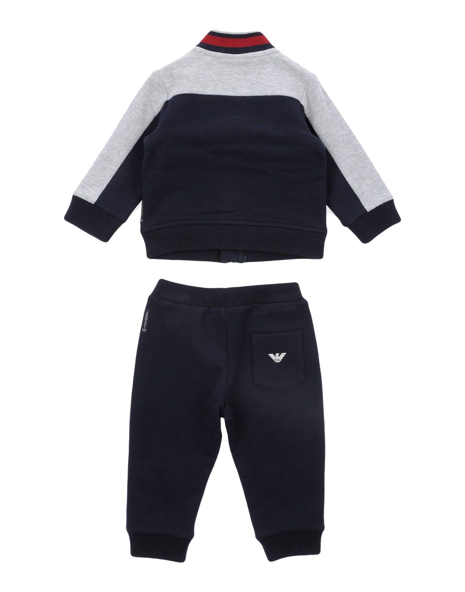 BODYSUITS & SETS Armani Junior Dark blue Boy Cotton