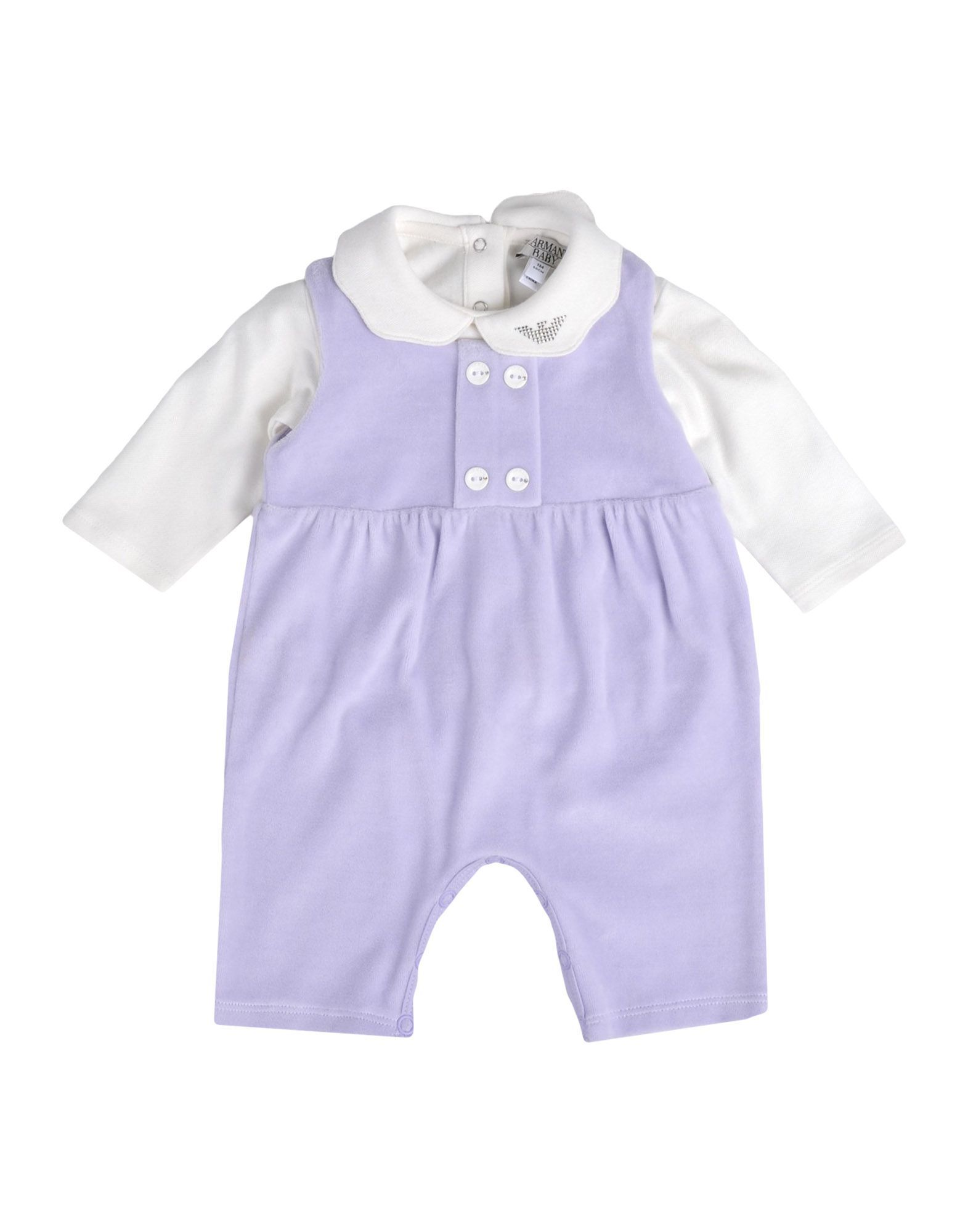 BODYSUITS & SETS Armani Junior Lilac Girl Cotton