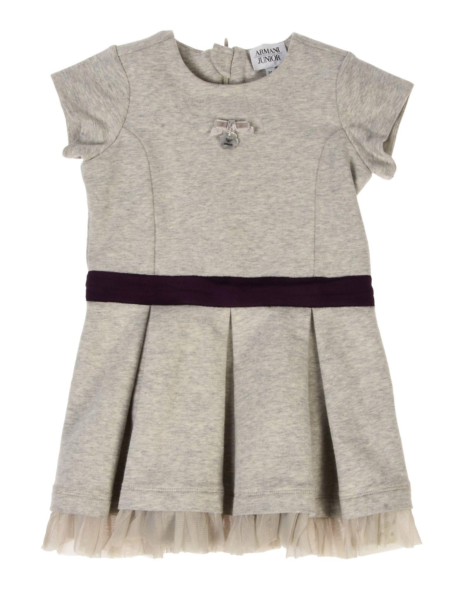 BODYSUITS & SETS Armani Junior Light grey Girl Cotton