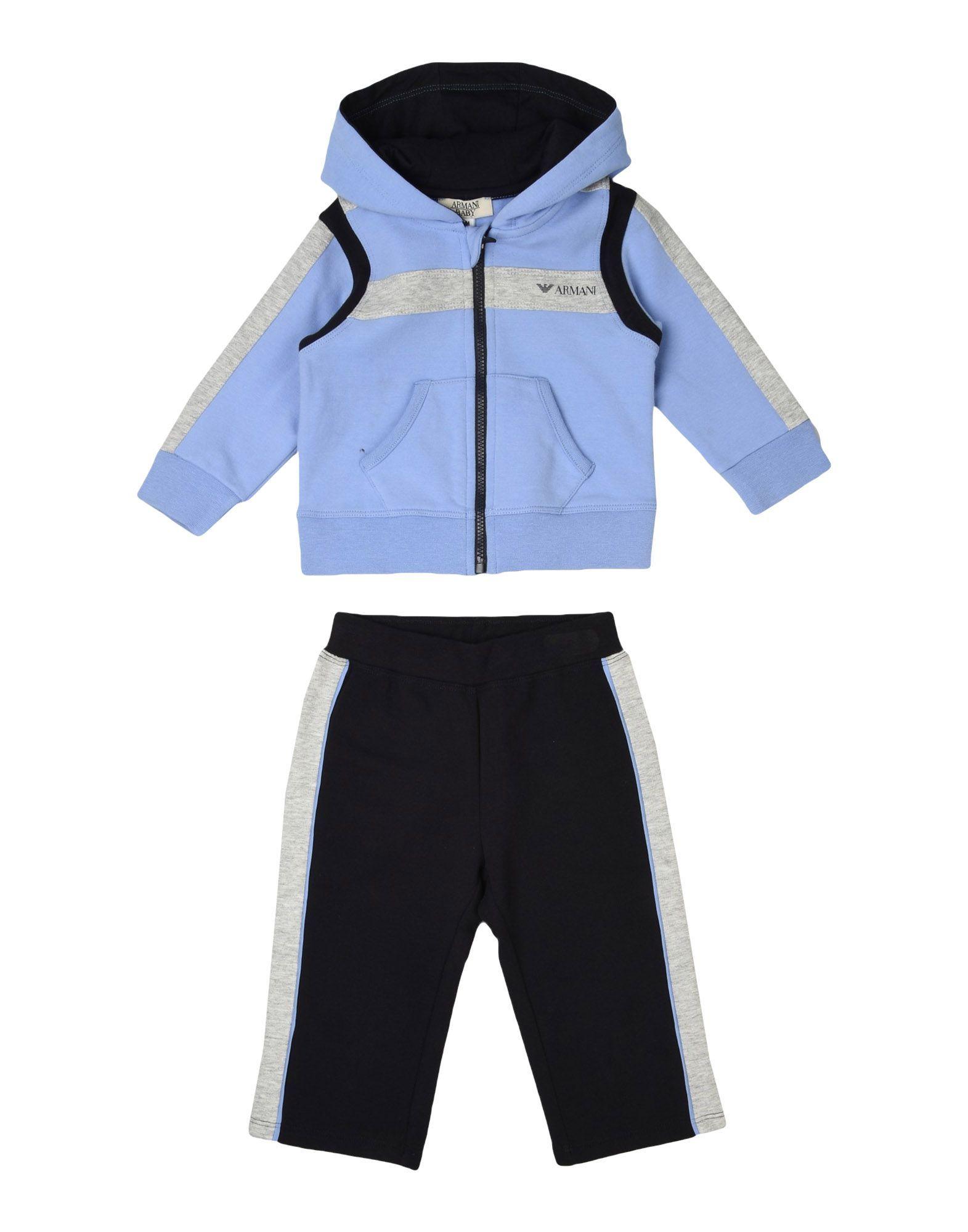 BODYSUITS & SETS Armani Junior Lilac Boy Cotton