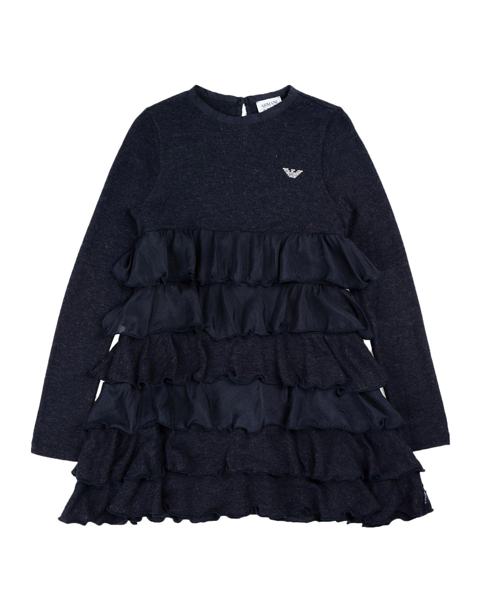 DRESSES Armani Junior Dark blue Girl Viscose