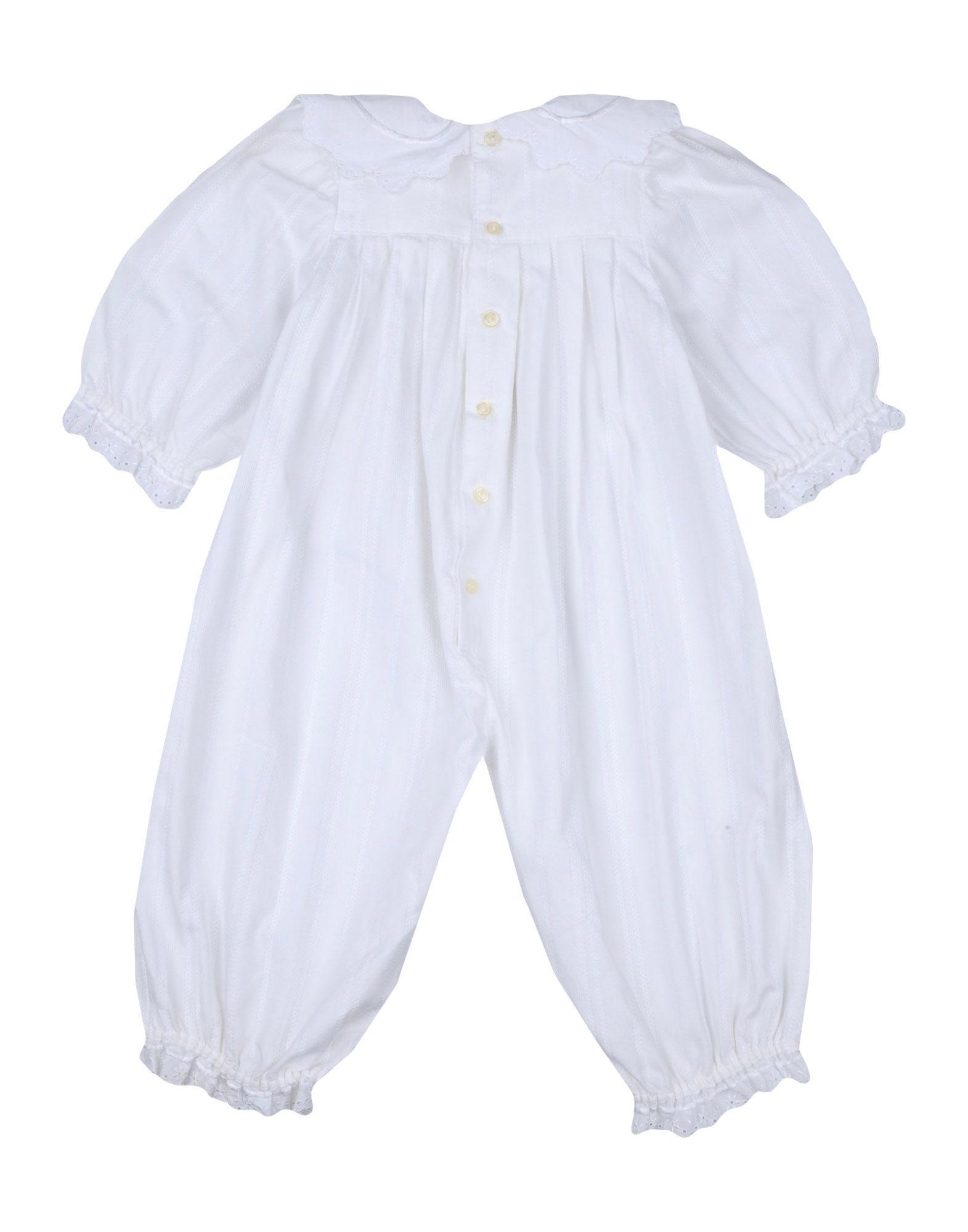BODYSUITS & SETS Absorba White Girl Cotton