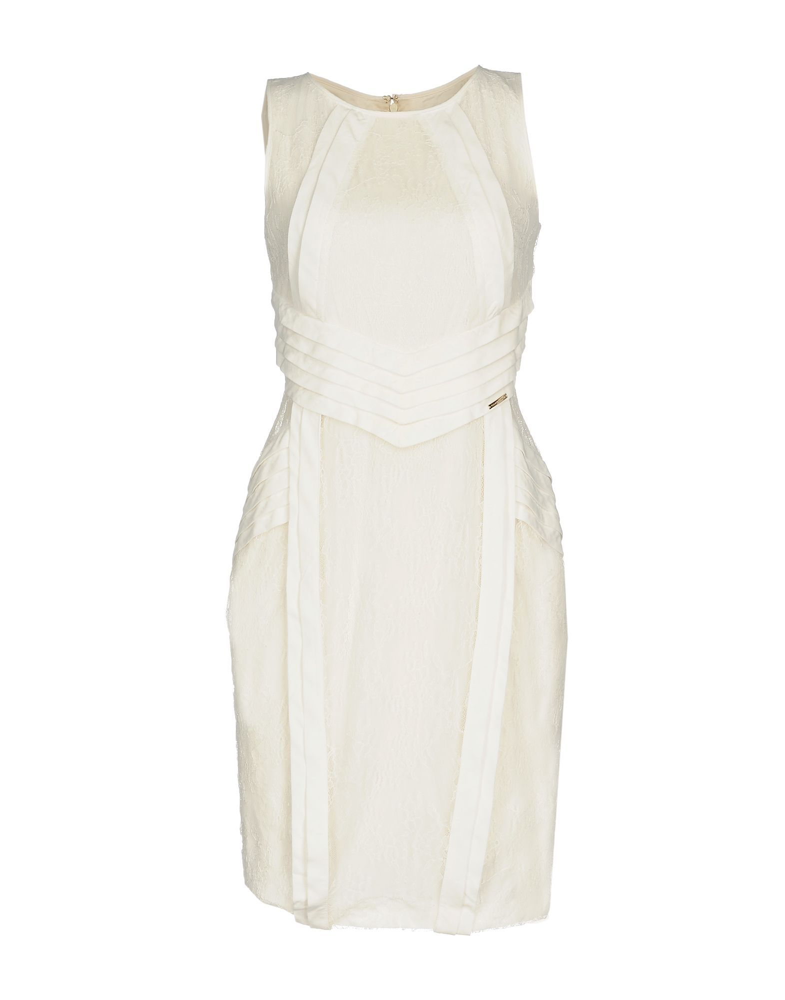 Elisabetta Franchi White Lace Dress