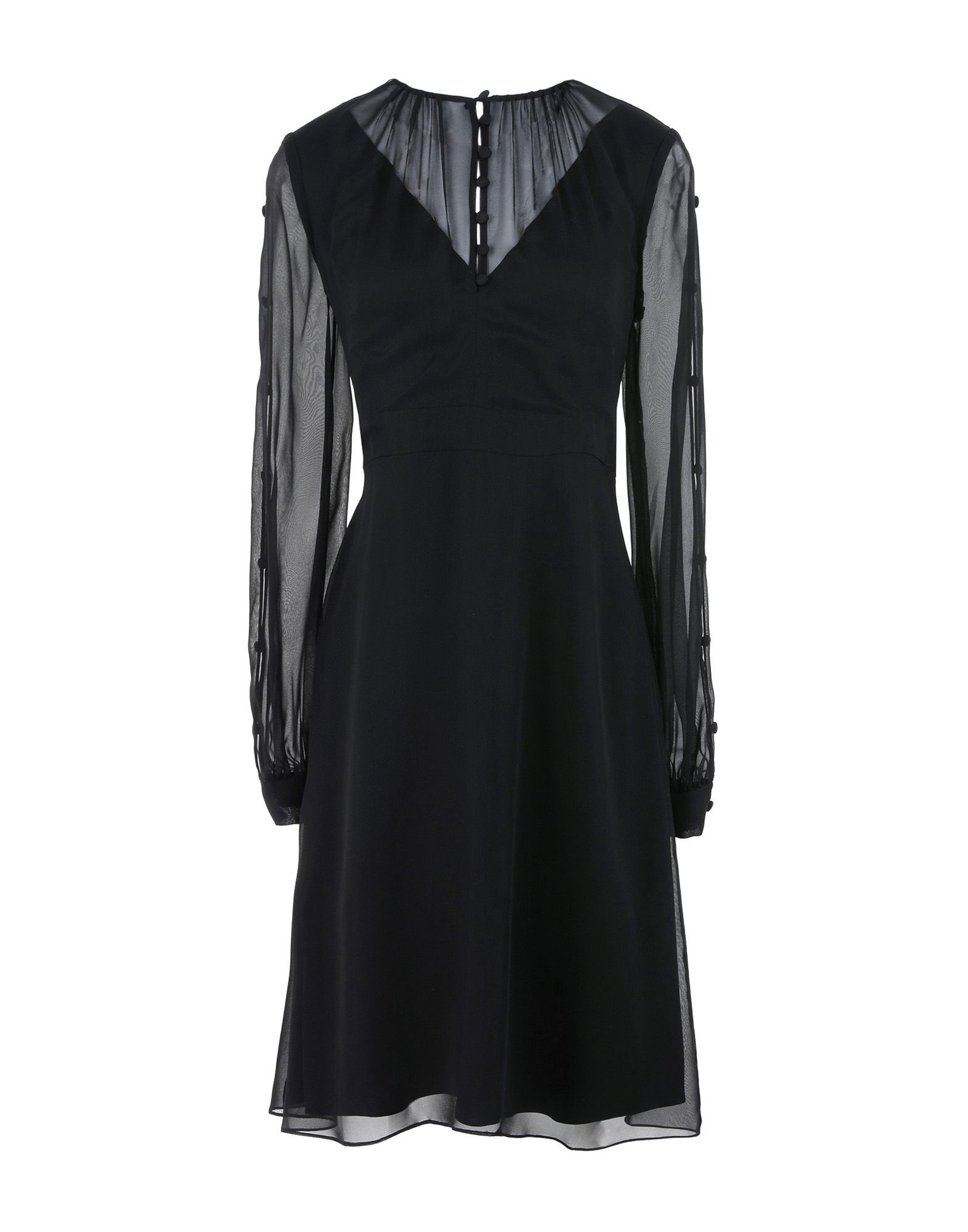DRESSES Prabal Gurung Black Woman Silk