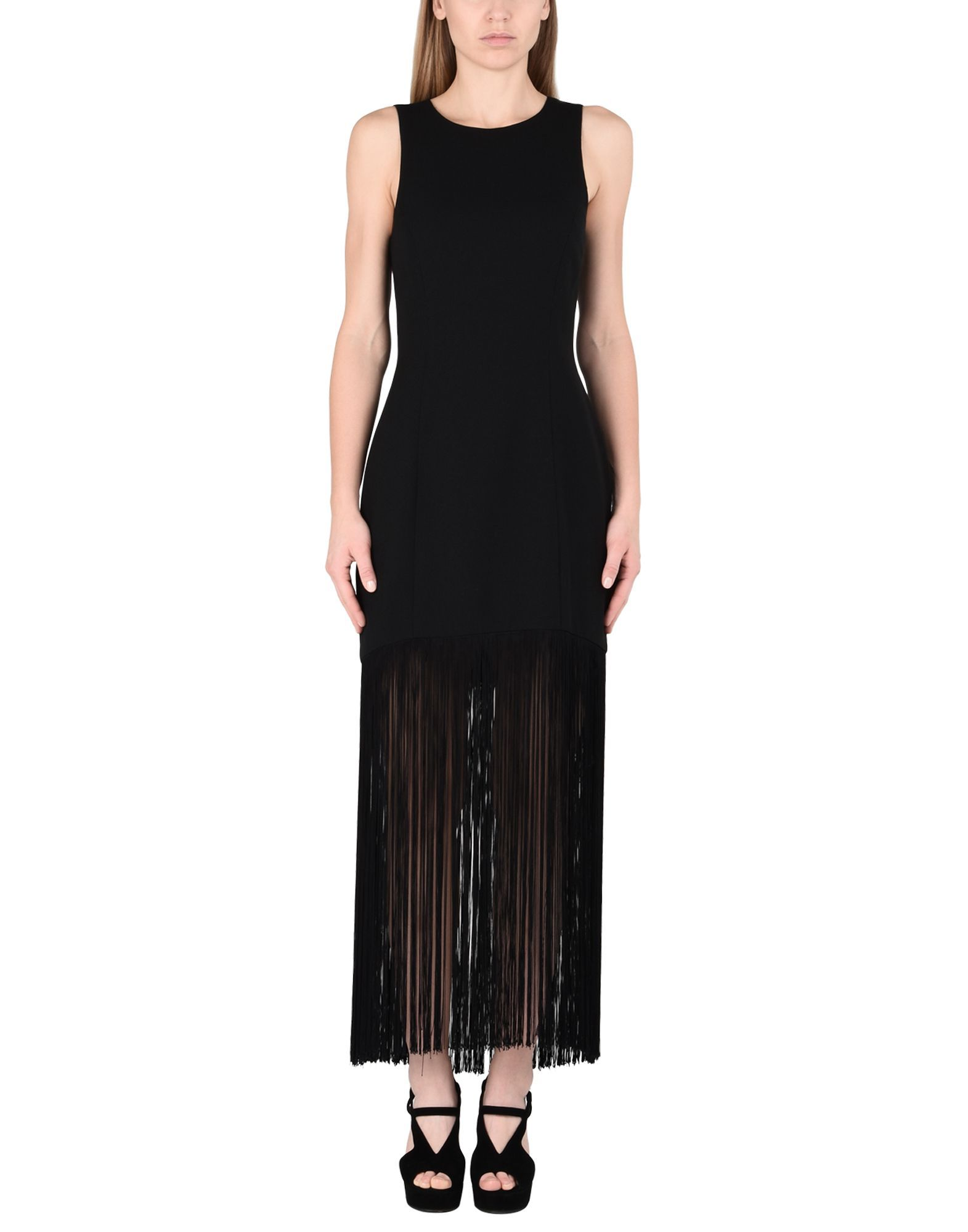 Prabal Gurung Black Sleeveless Dress