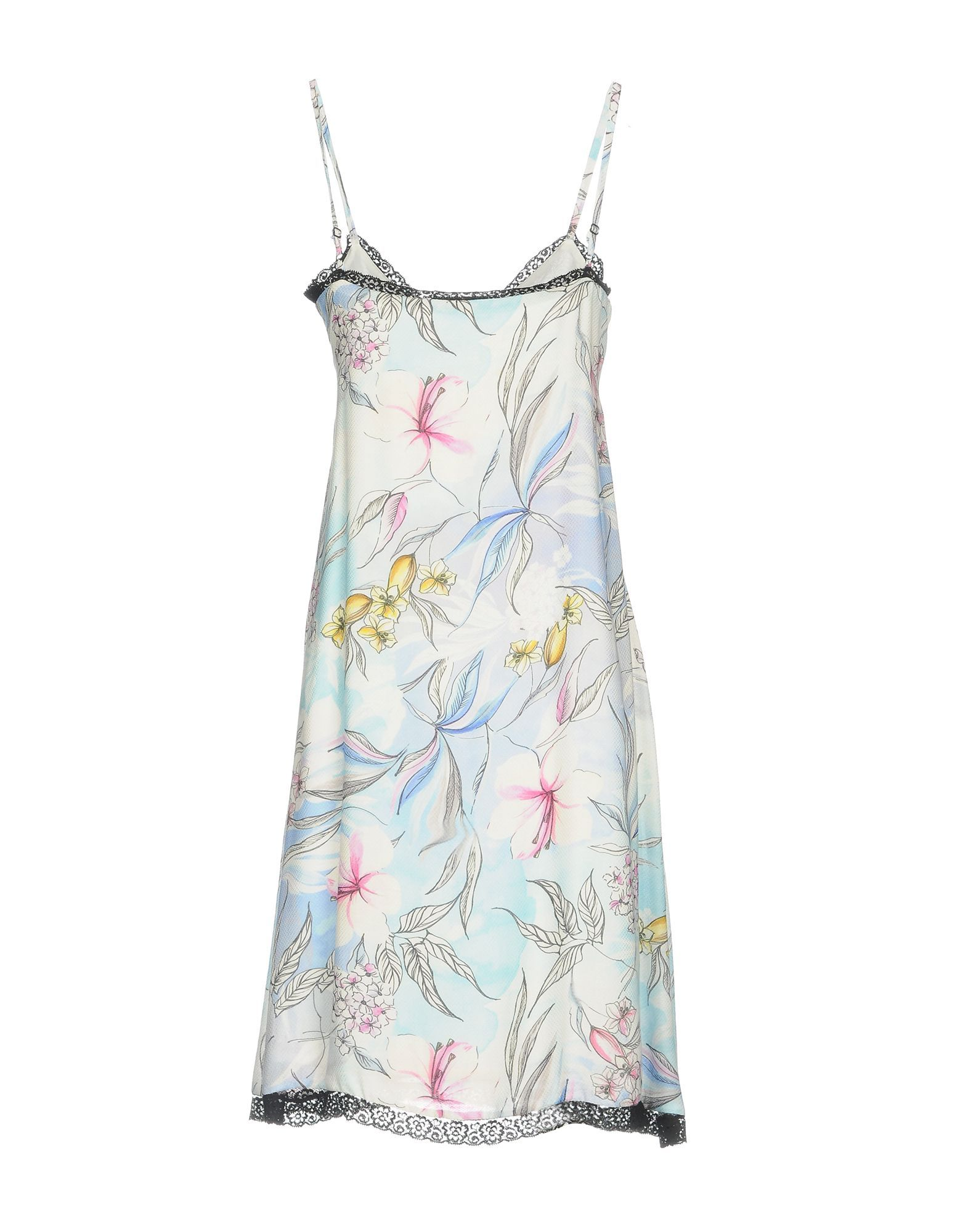 Anna Rachele Jeans Collection White Print Camisole Dress
