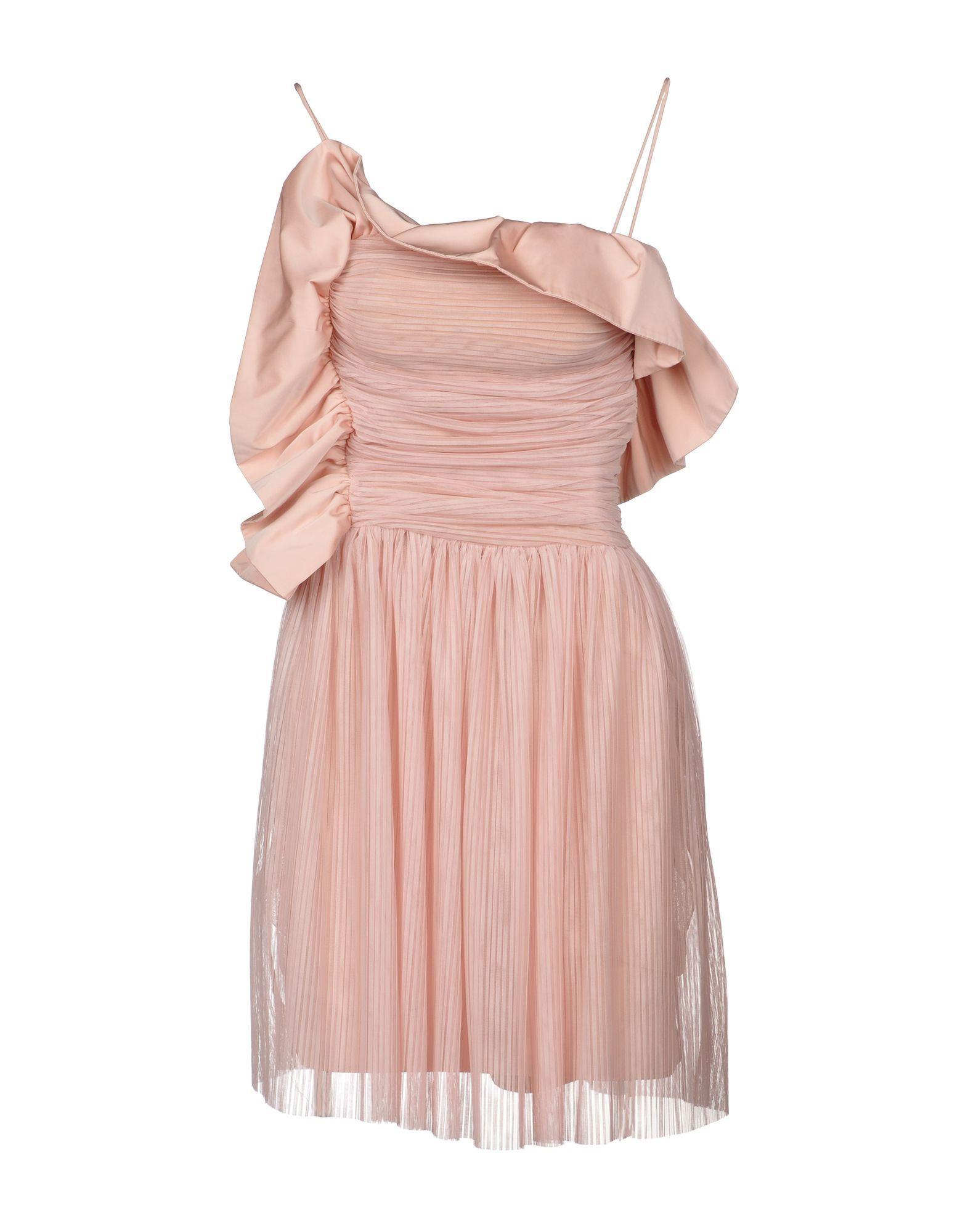 Pinko Pink Short Dress