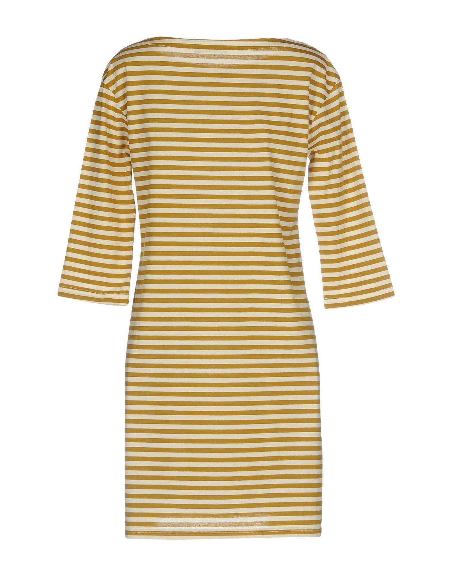 DRESSES Roberto Collina Khaki Woman Cotton