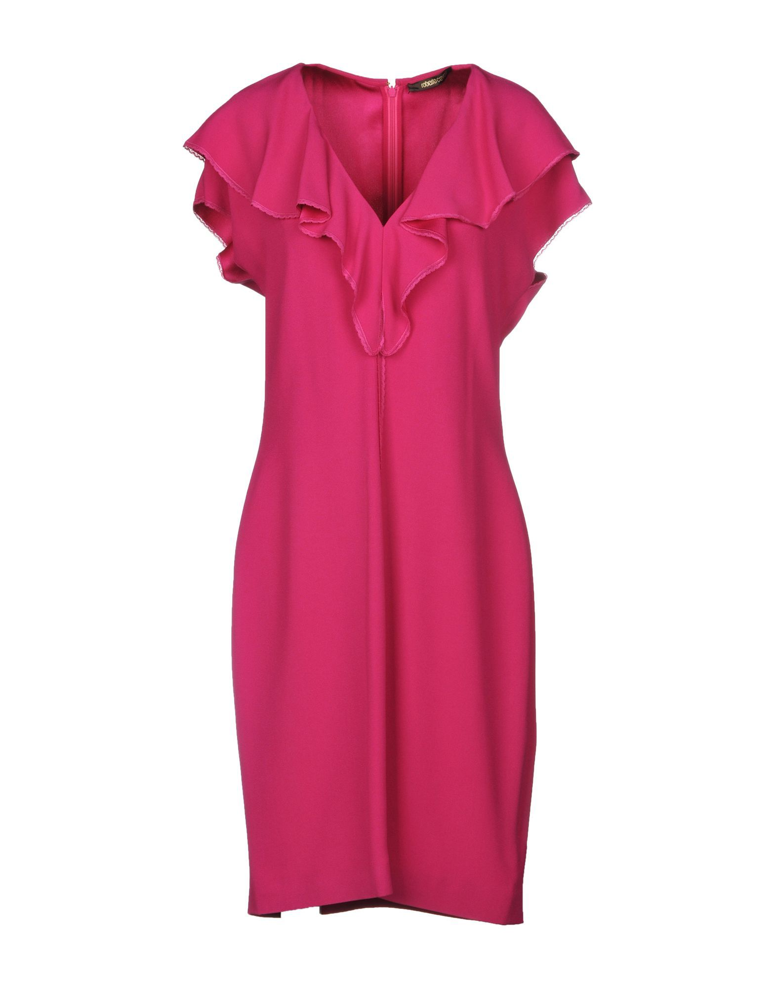 Roberto Cavalli Fuchsia Dress