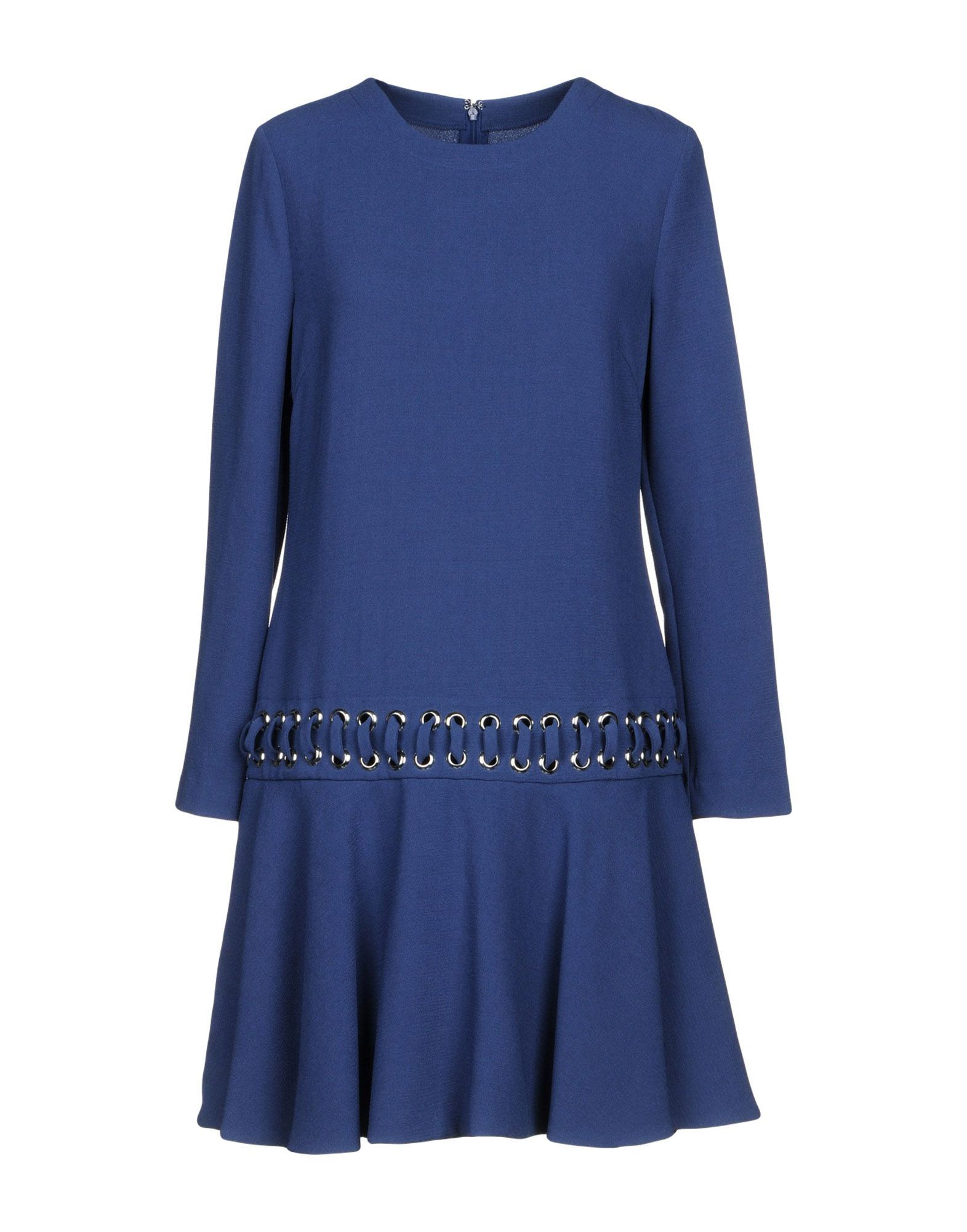 Pinko Blue Long Sleeve Dress