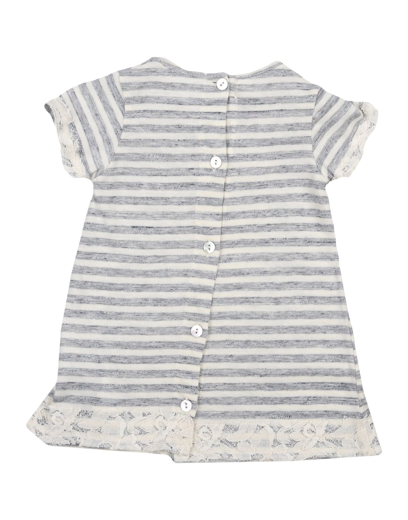 BODYSUITS & SETS Ki6? Pretty Grey Girl Cotton