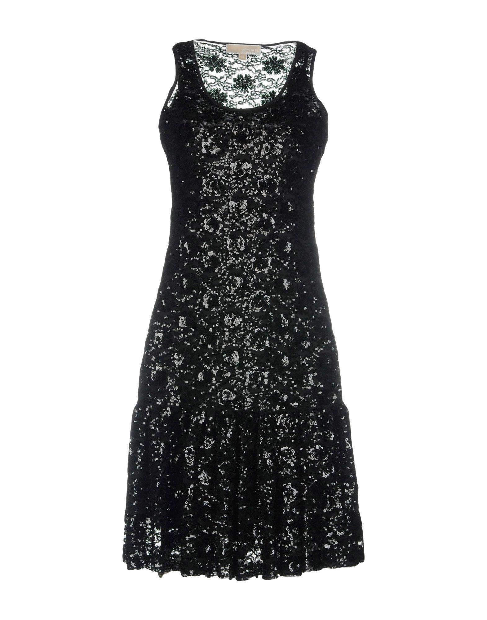 Dress Michael Michael Kors Black Women's Polyester