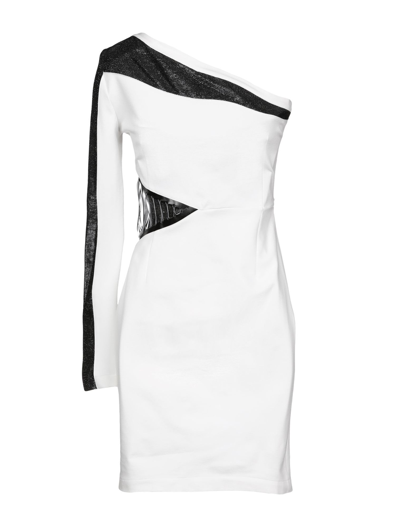 Just Cavalli White Asymmetrical Dress