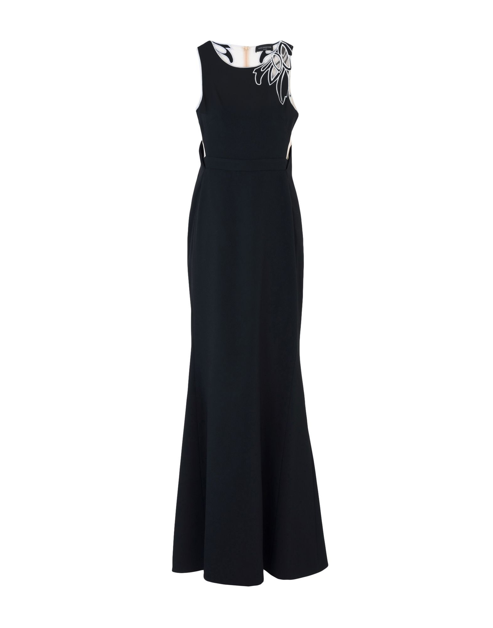 Maria Grazia Severi Black Full Length Dress