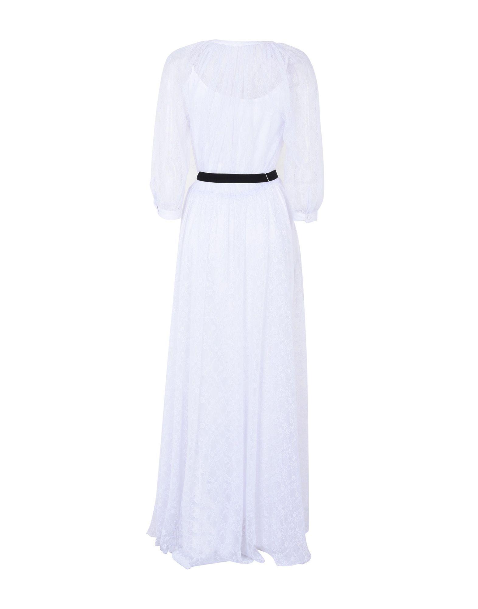 Manoush White Full Length Dress