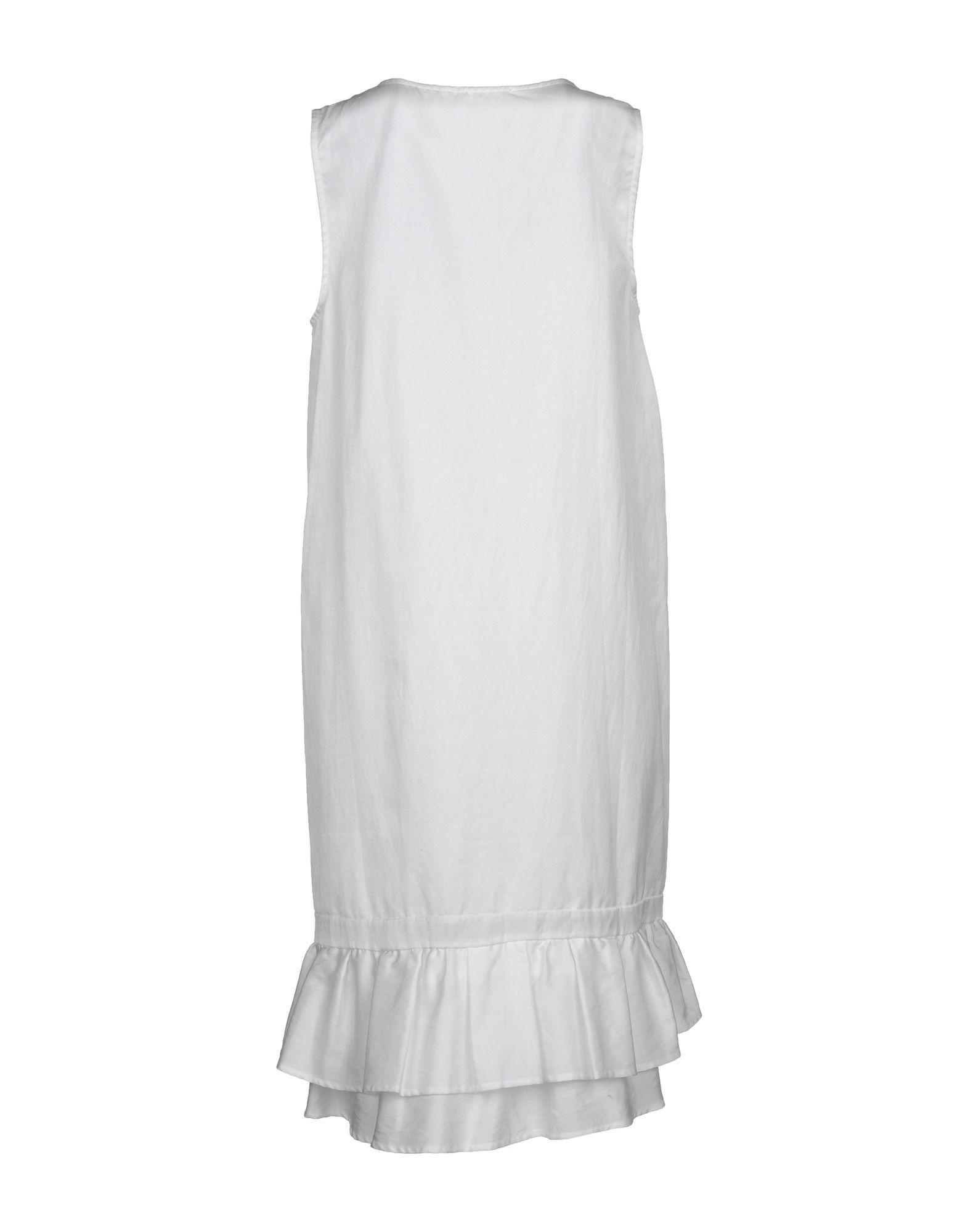 DRESSES Clu Light grey Woman Cotton