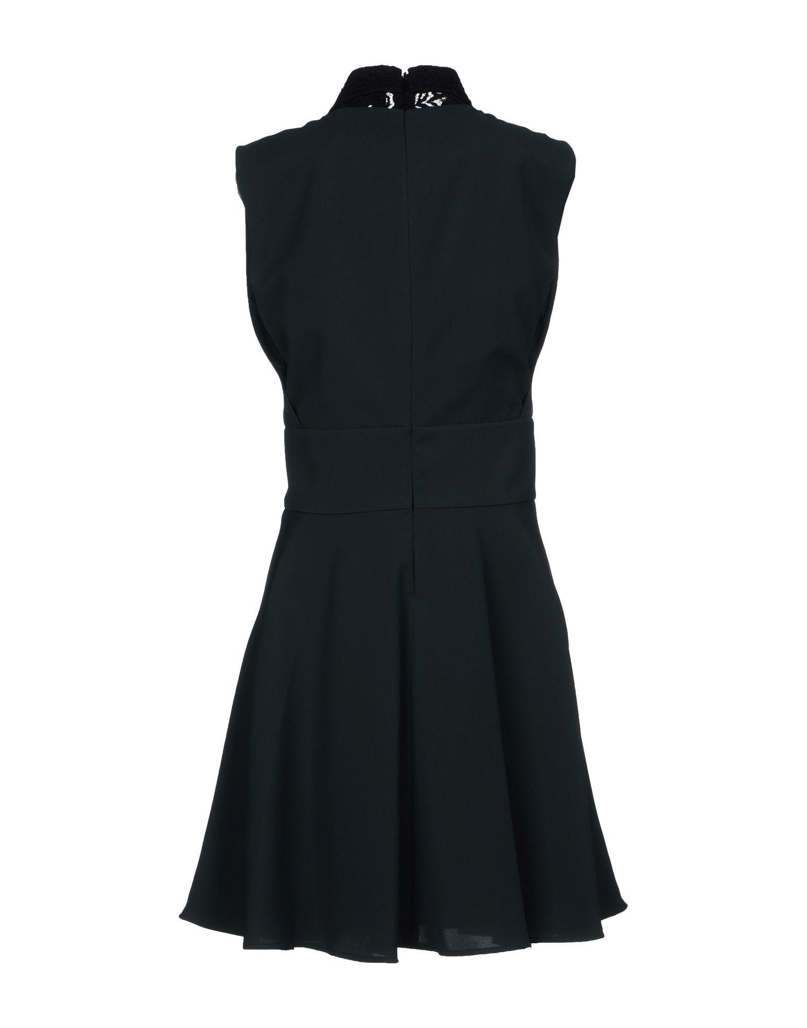 The Kooples Dark Green Lace Sleeveless Dress
