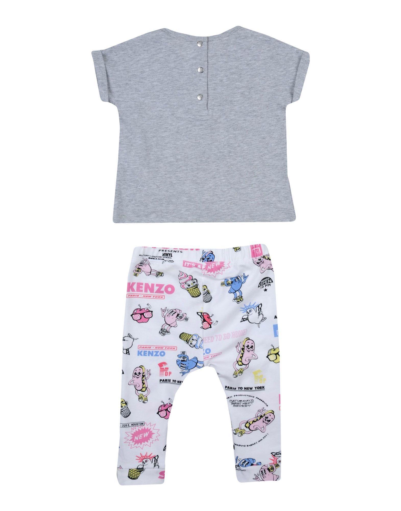 BODYSUITS & SETS Kenzo Grey Girl Cotton
