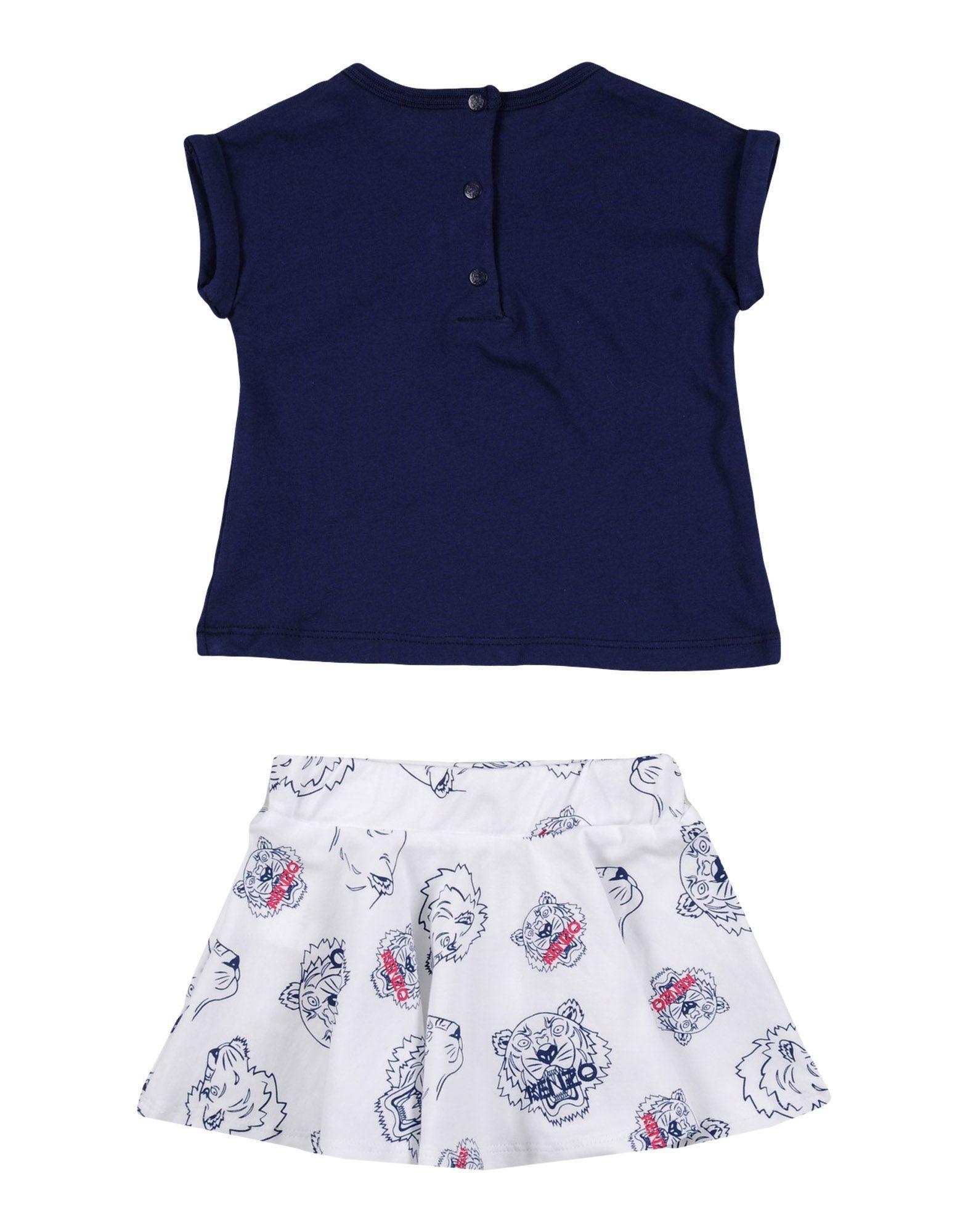 BODYSUITS & SETS Kenzo Dark blue Girl Cotton