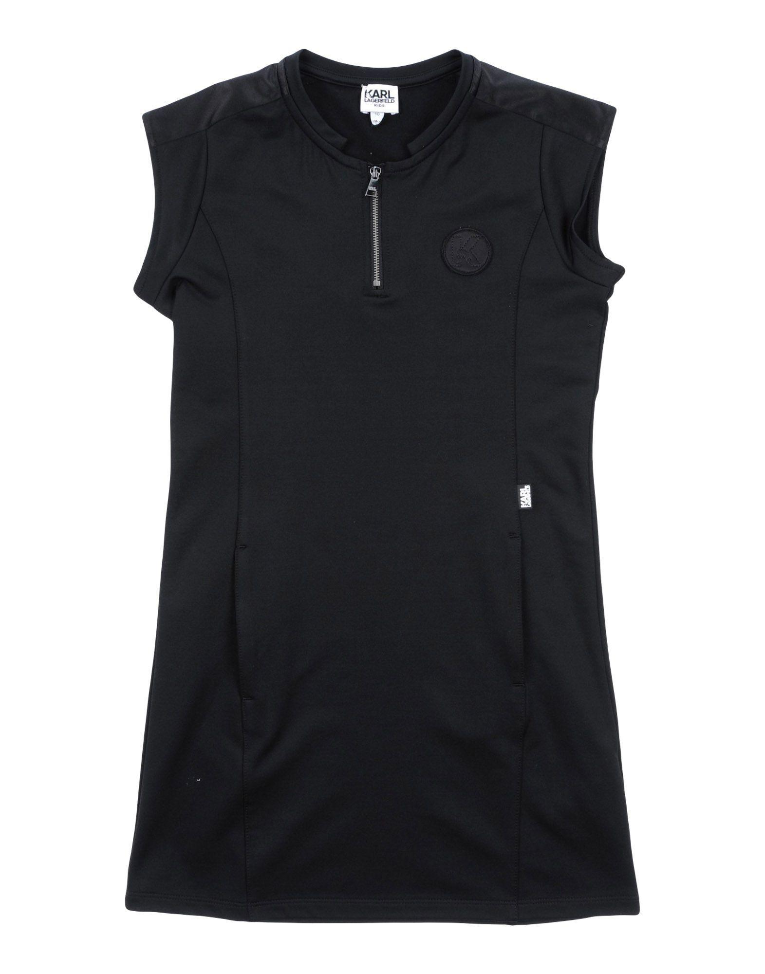 DRESSES Karl Lagerfeld Black Girl Polyester