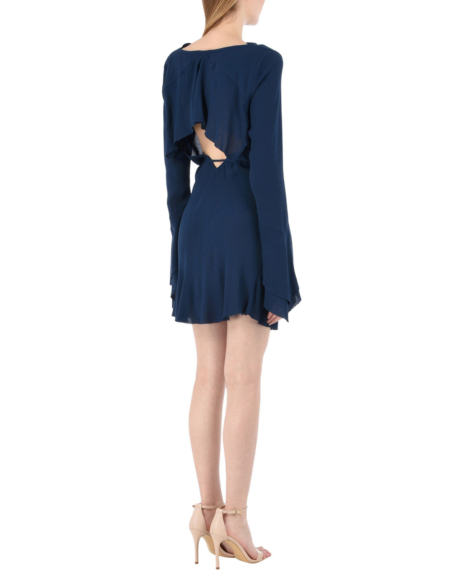 Bec & Bridge Dark Blue Belted Dress