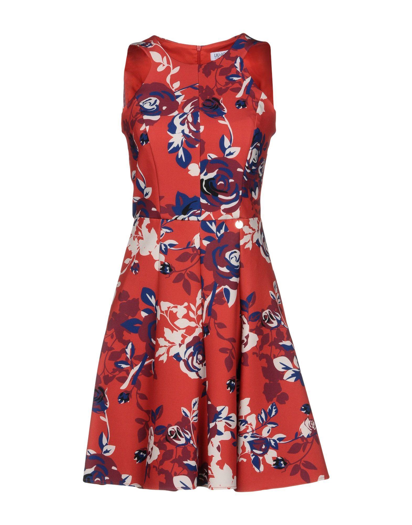 Liu Jo Red Print Dress