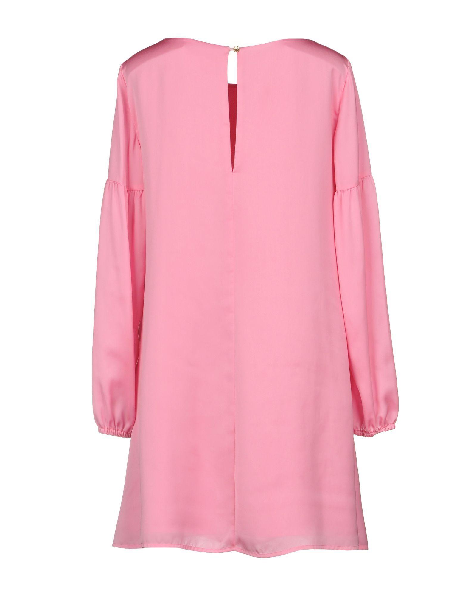 Patrizia Pepe Pink Long Sleeve Dress