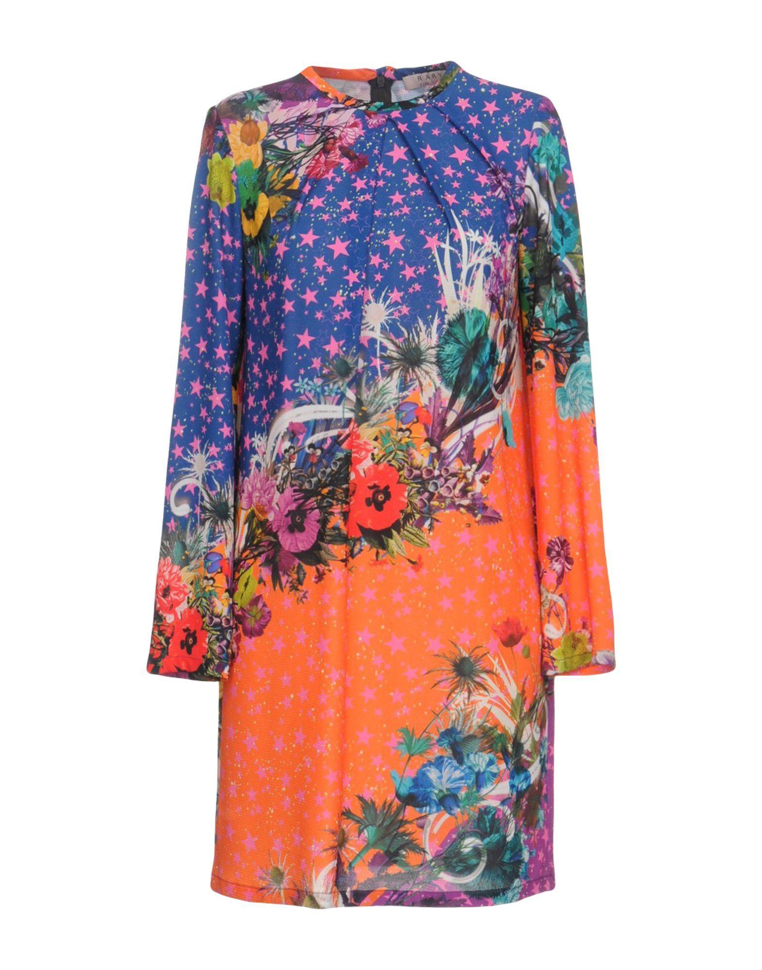 DRESSES Rary Blue Woman Polyester