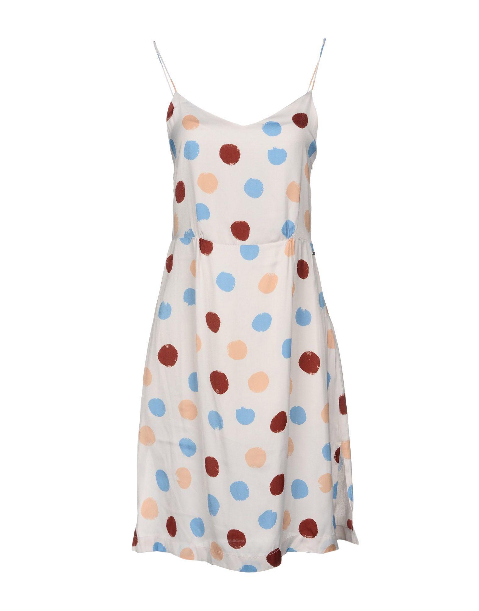 Pepe Jeans Light Grey Spot Print Camisole Dress