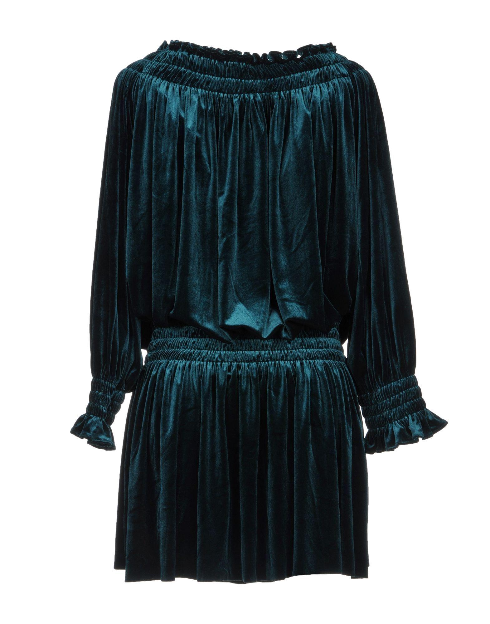 Norma Kamali Green Long Sleeve Dress